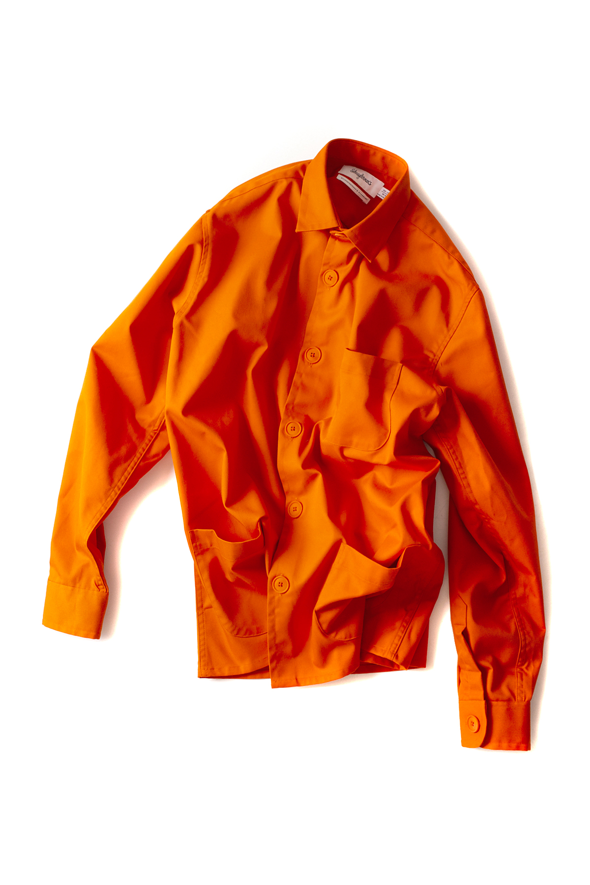 Schnayderman's : Overshirt Tech Twill (Orange)