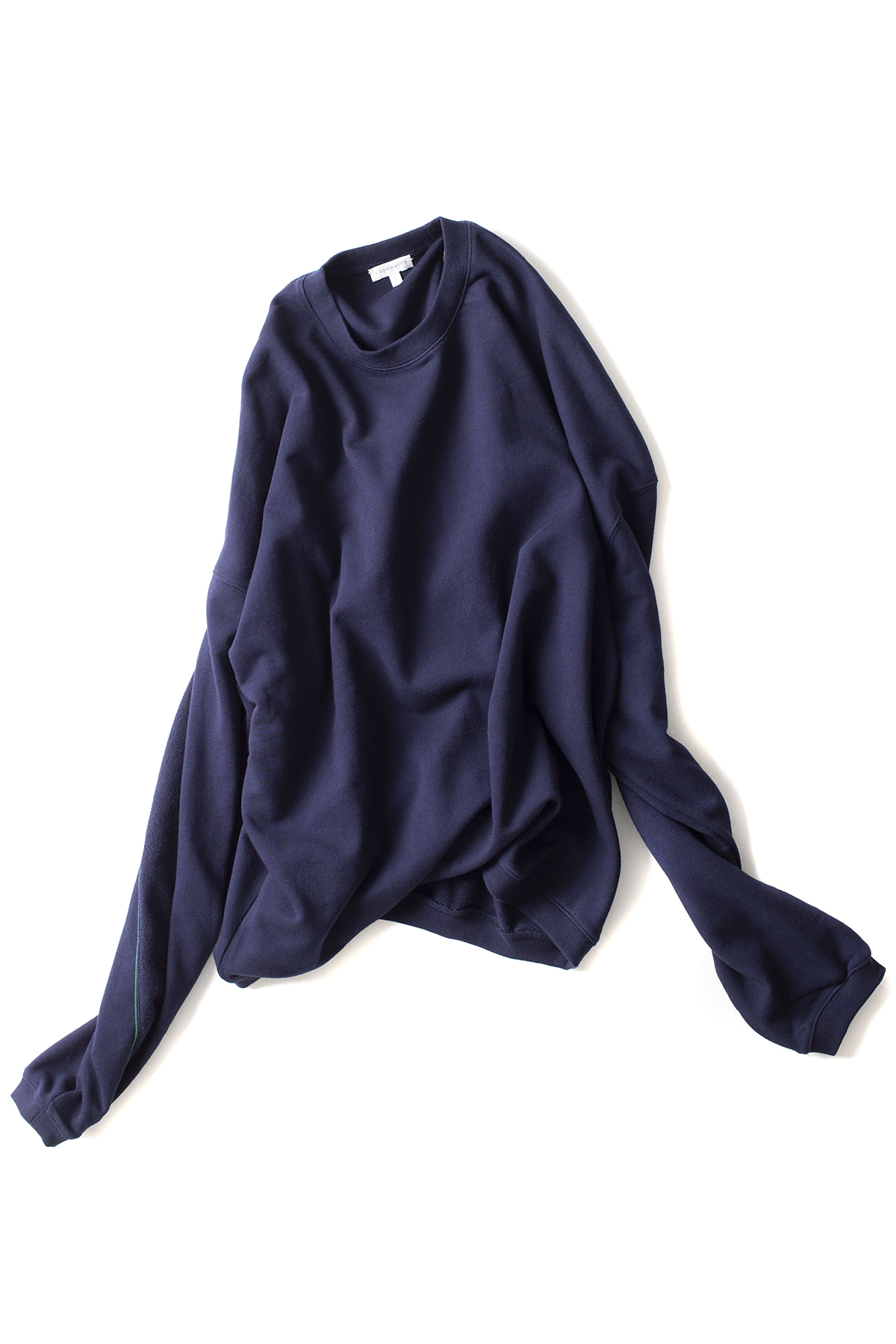 AECA WHITE : Oversize Panel Sweatshirt (Navy)