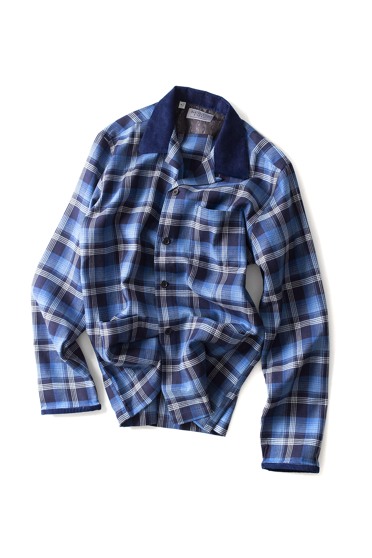 Kenneth Field : Ez-Jac Indigo Plaids (Navy)