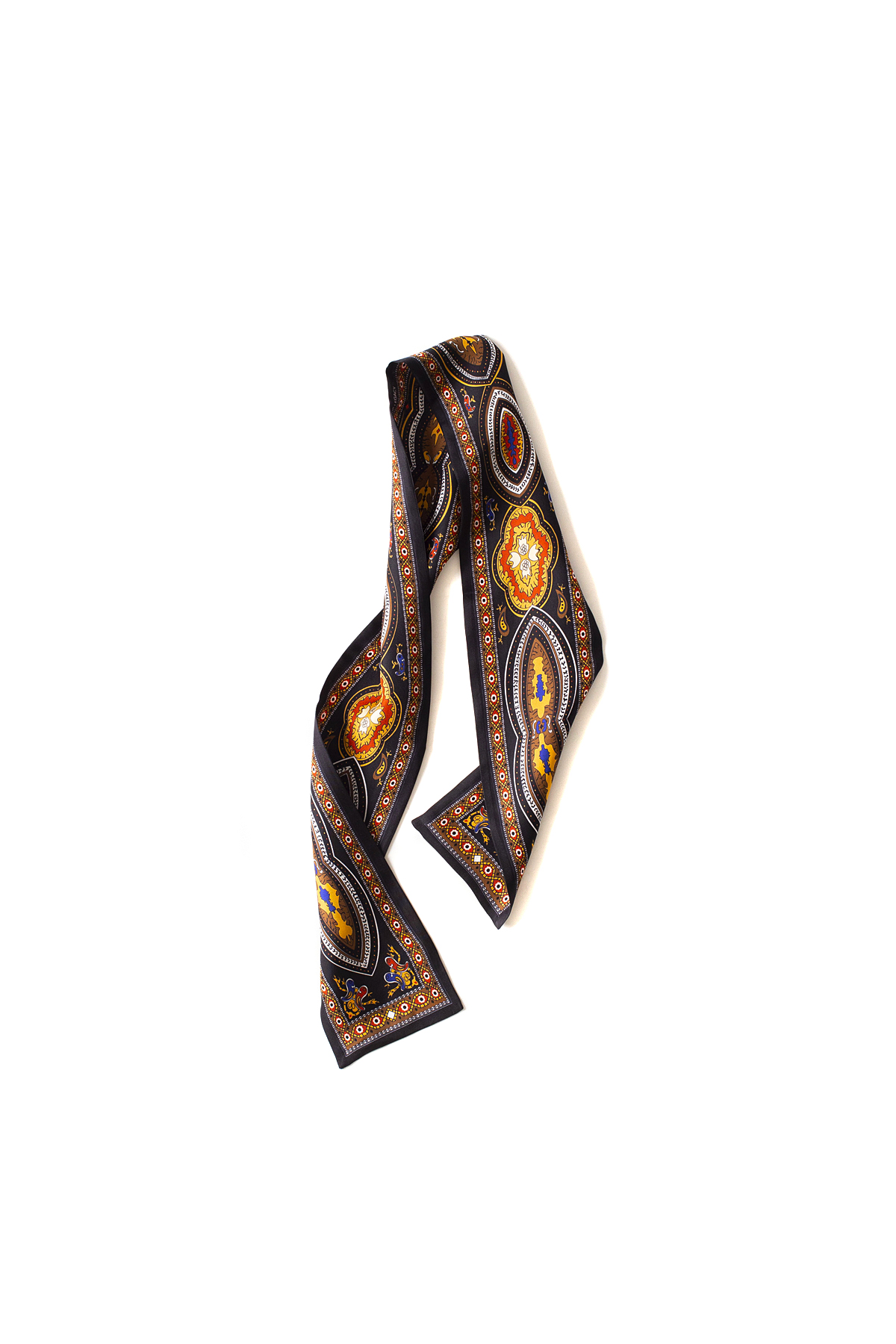 OUR LEGACY : Ornament Scarf (Black)
