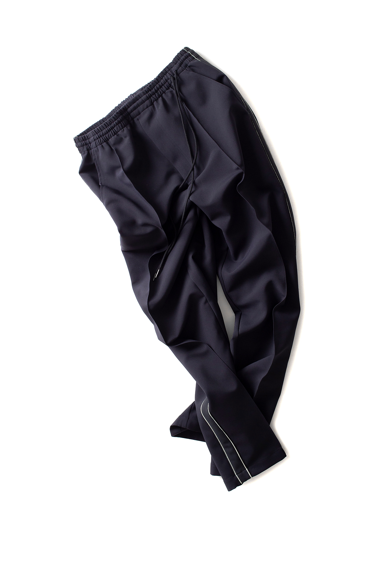 youth : Wide Track Pants (Navy)