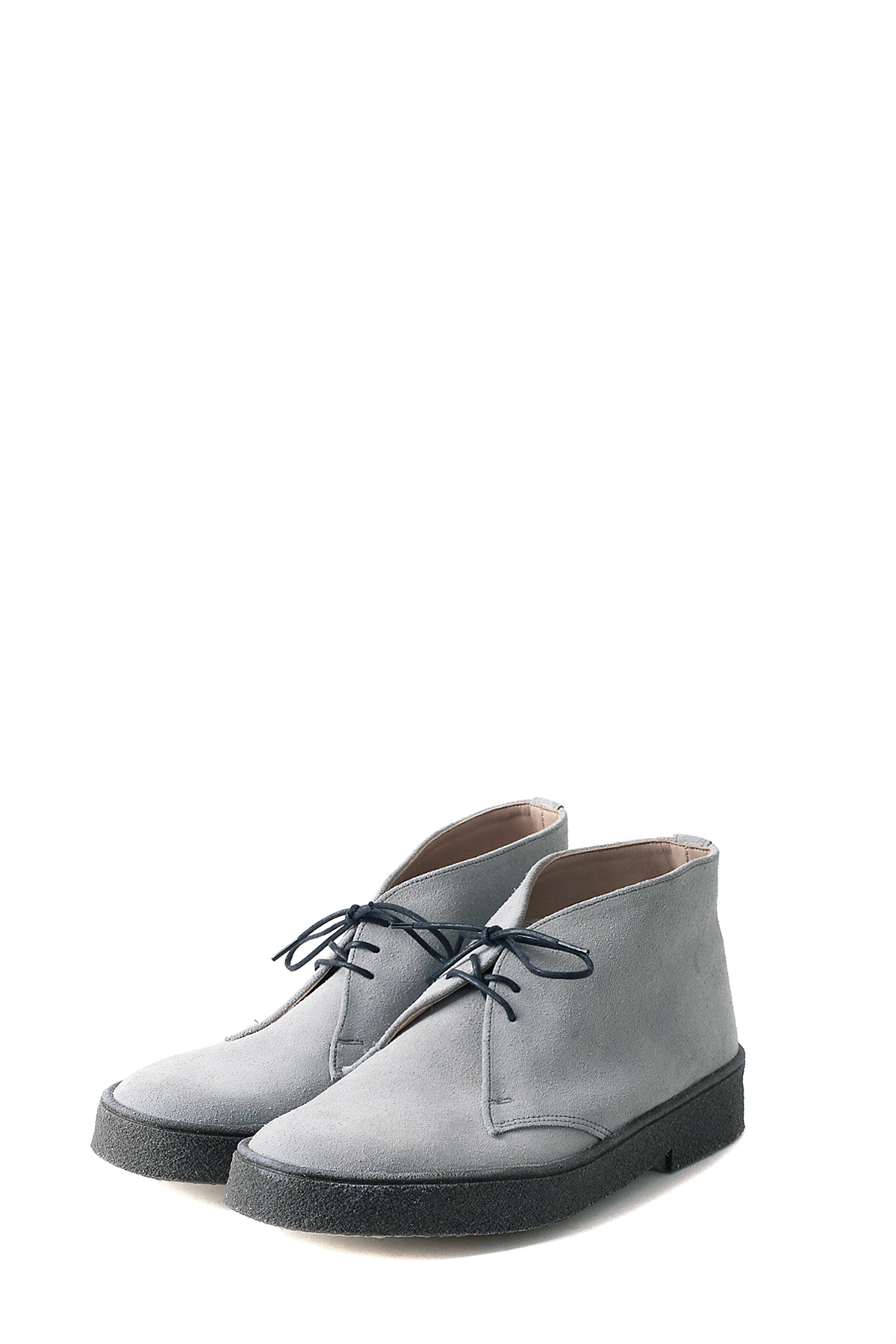 GEORGE COX : Chukka (Light Grey Suede)