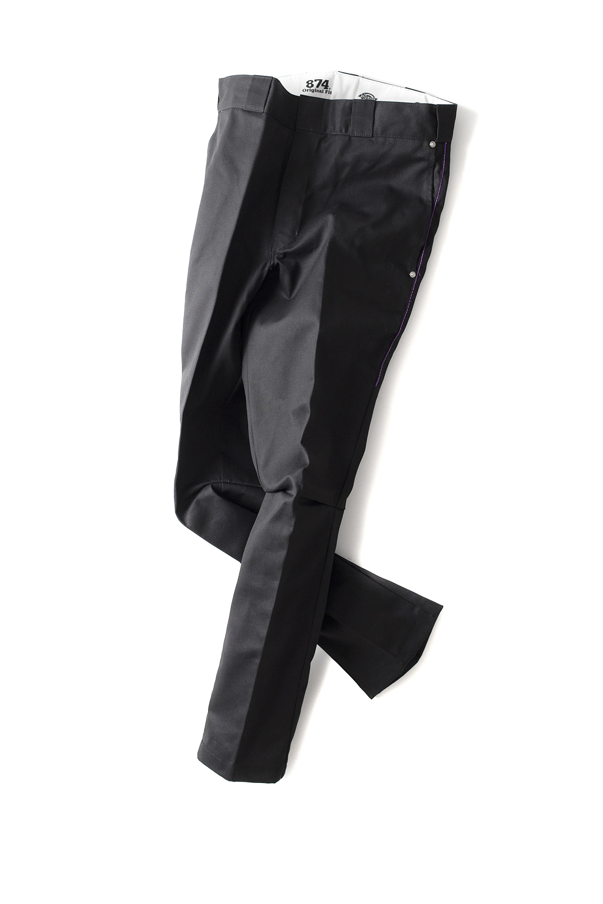 NEEDLES : Dimension Slim Dickies 874 (Black)