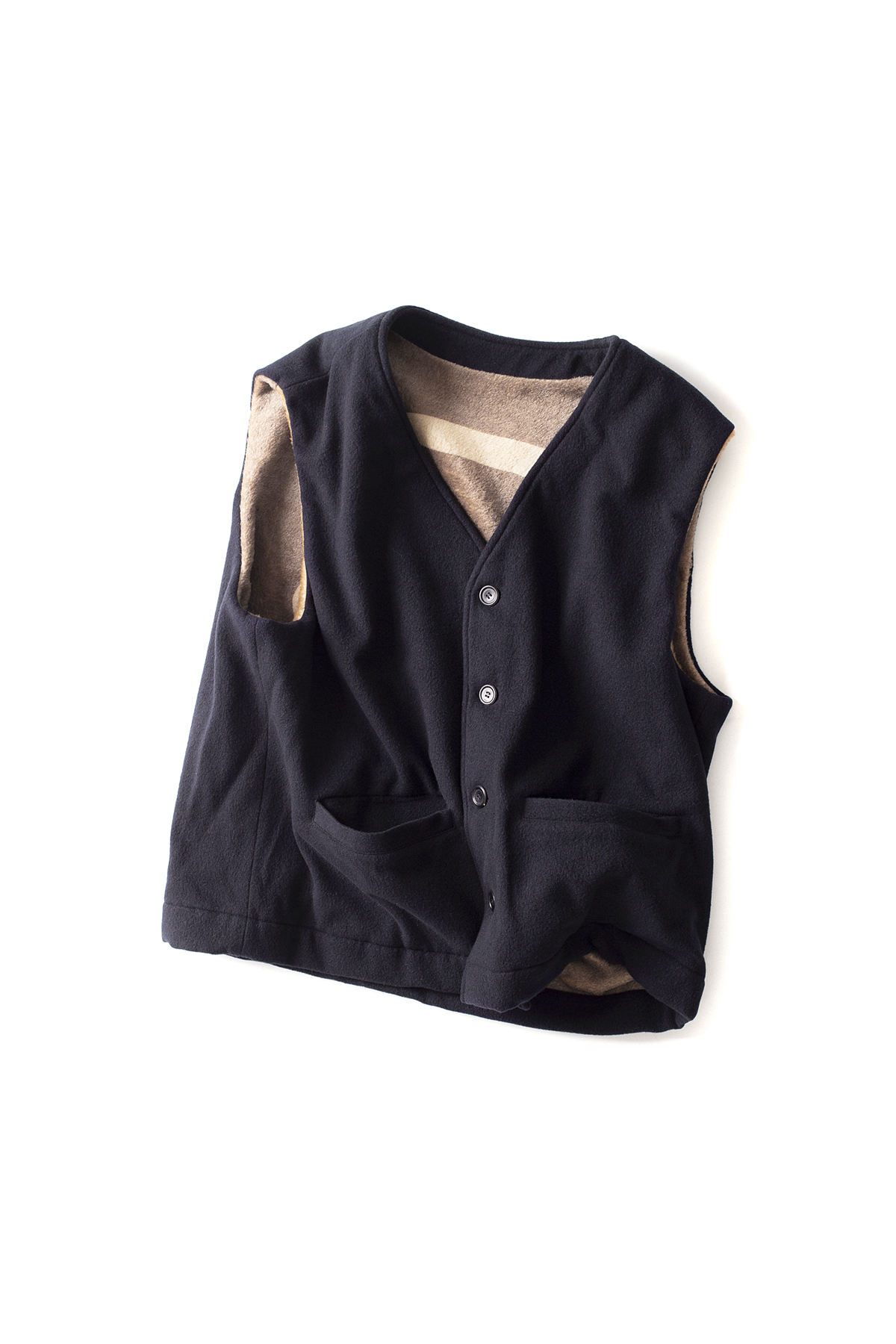 OUR LEGACY : Story Vest (Navy)