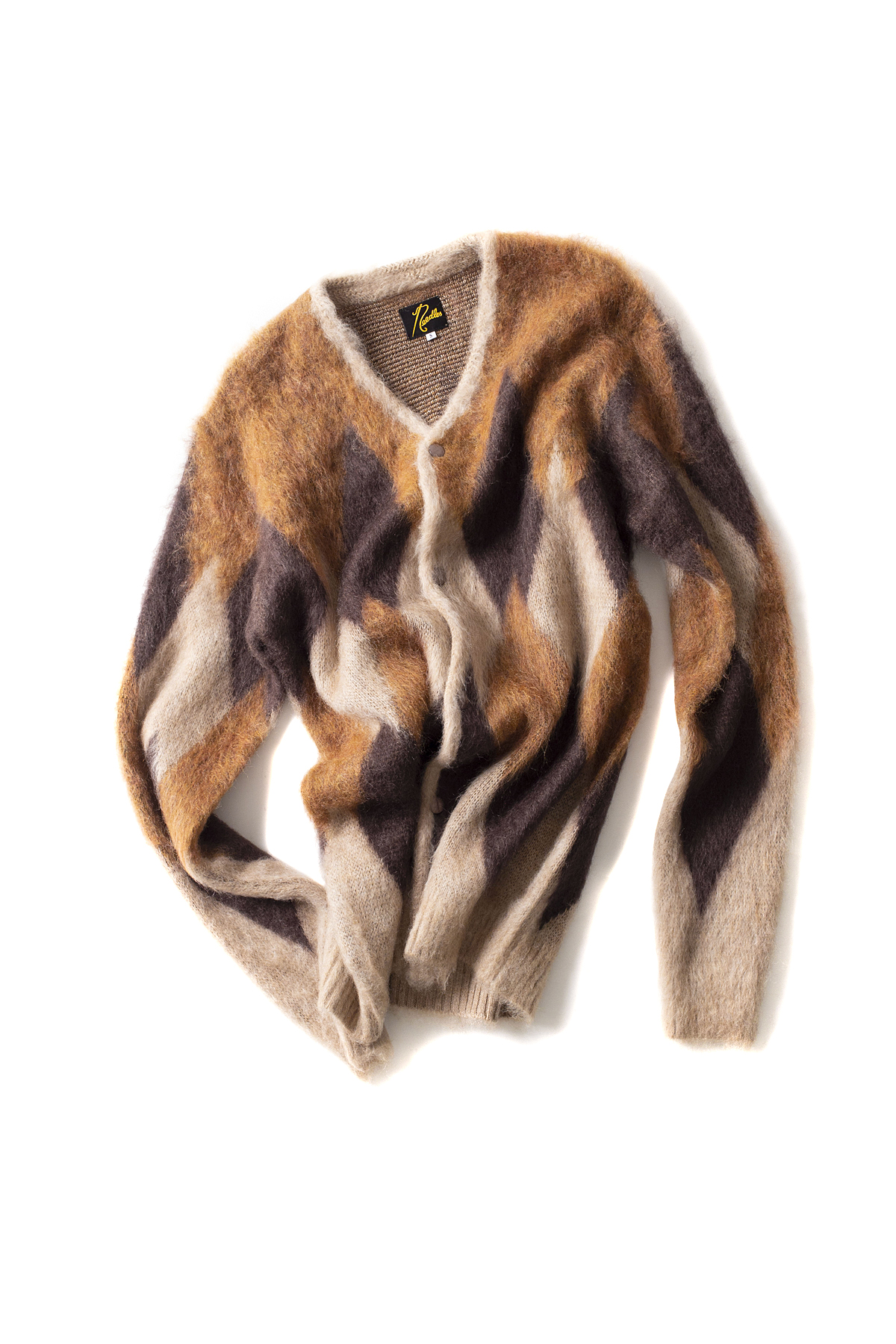 NEEDLES : Diamond Mohair Cardigan (Beige)
