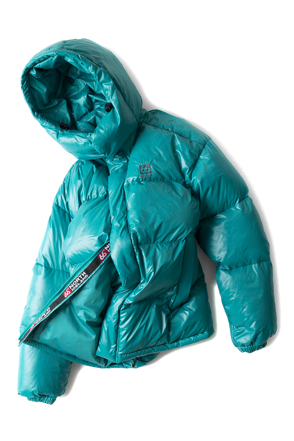 66North : Dyngja Down Jacket (Green)