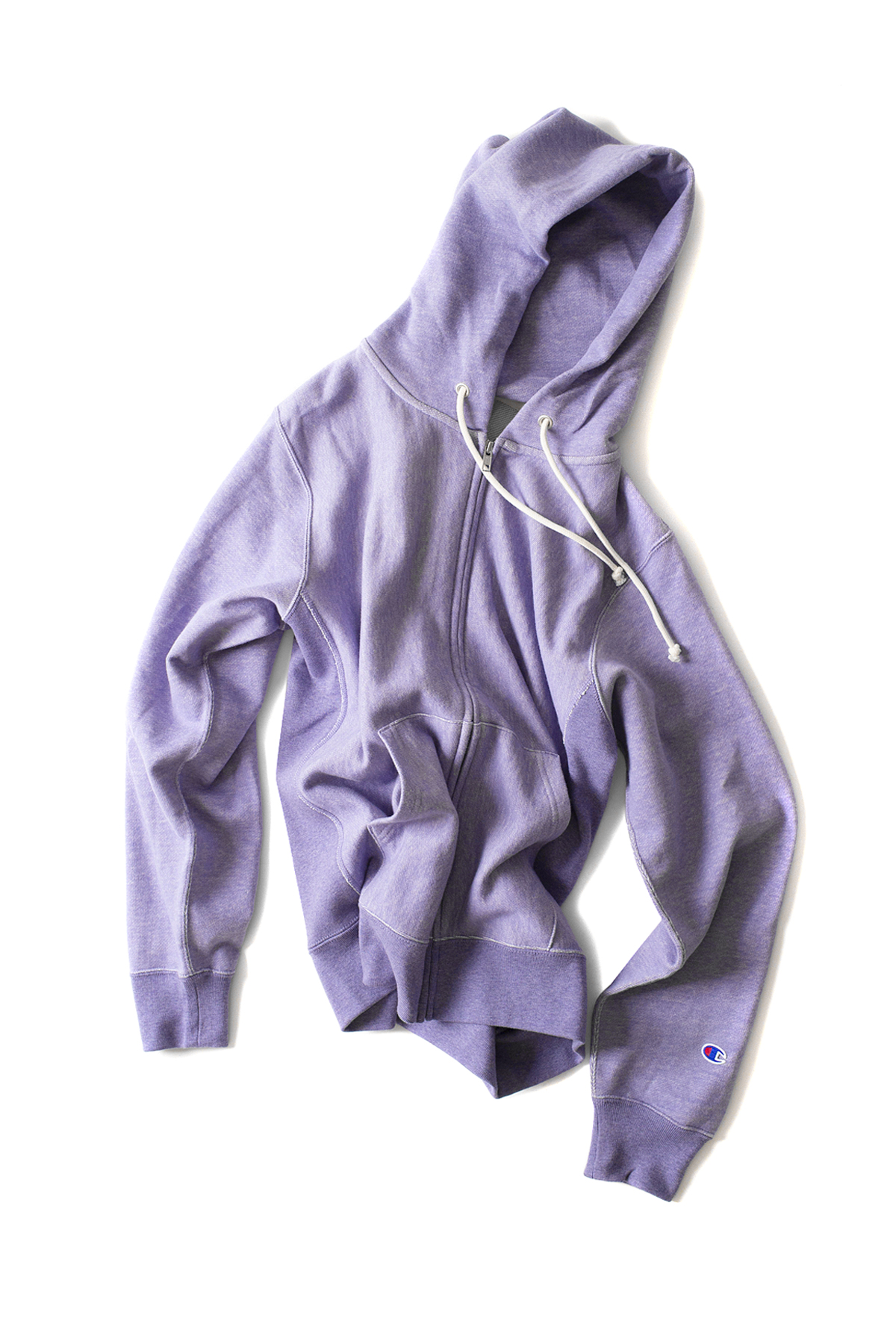 Champion : Reverse Weave Zips Wet Parker (Purple)