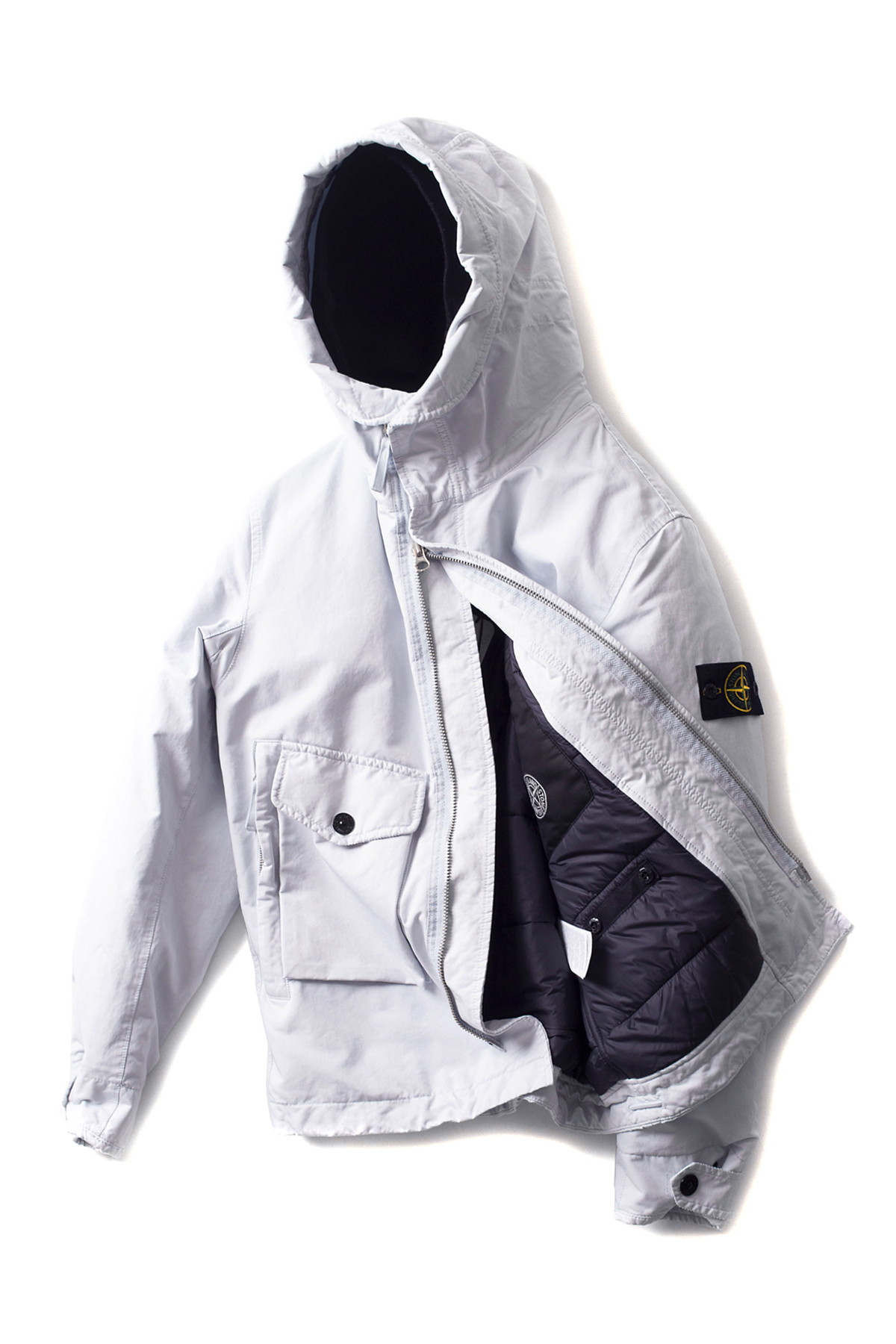 Stone Island : David - TC With Primaloft (Grey)