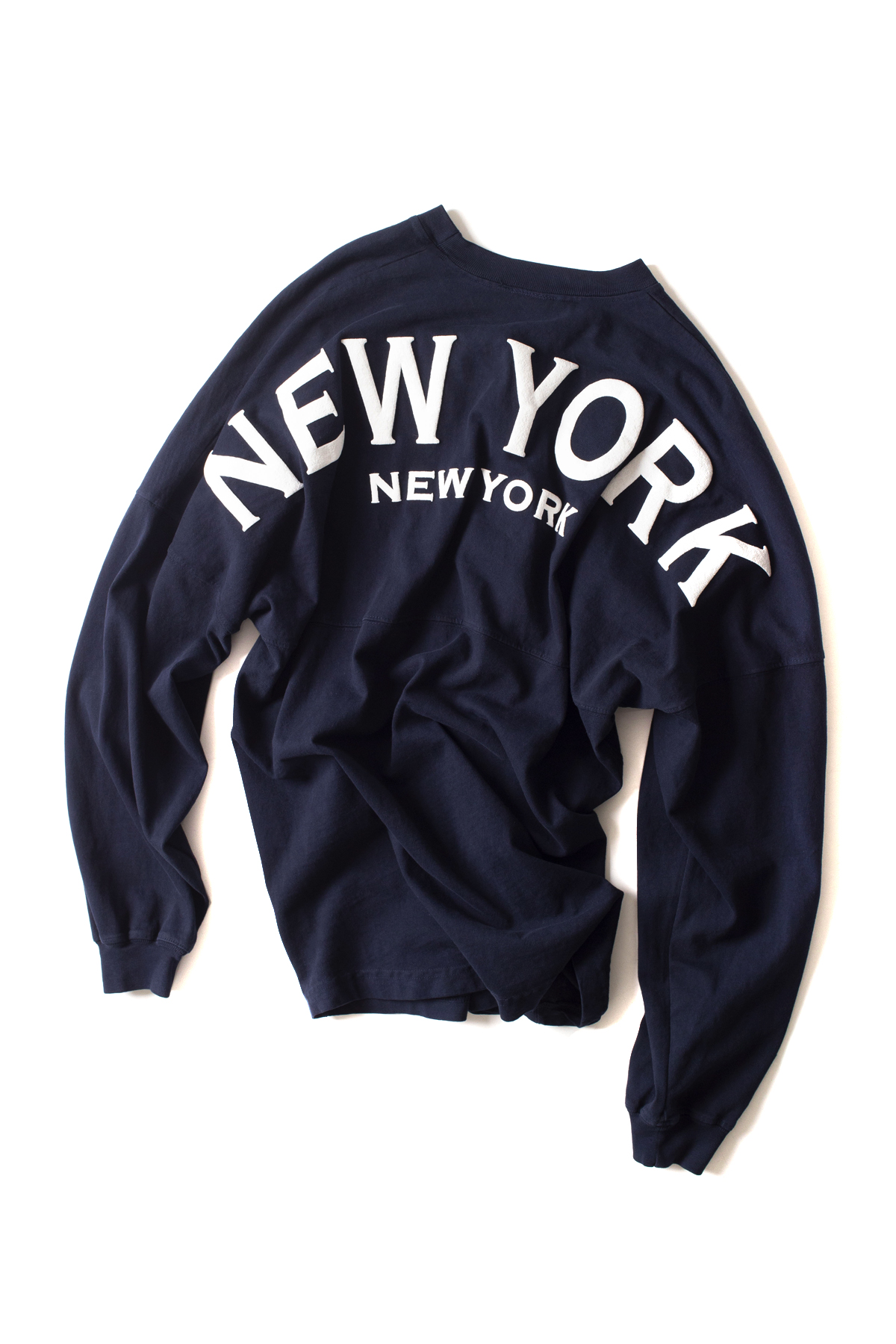 Spirit Jersey : Original Crew Neck Spirit Jersey (New York / Navy)
