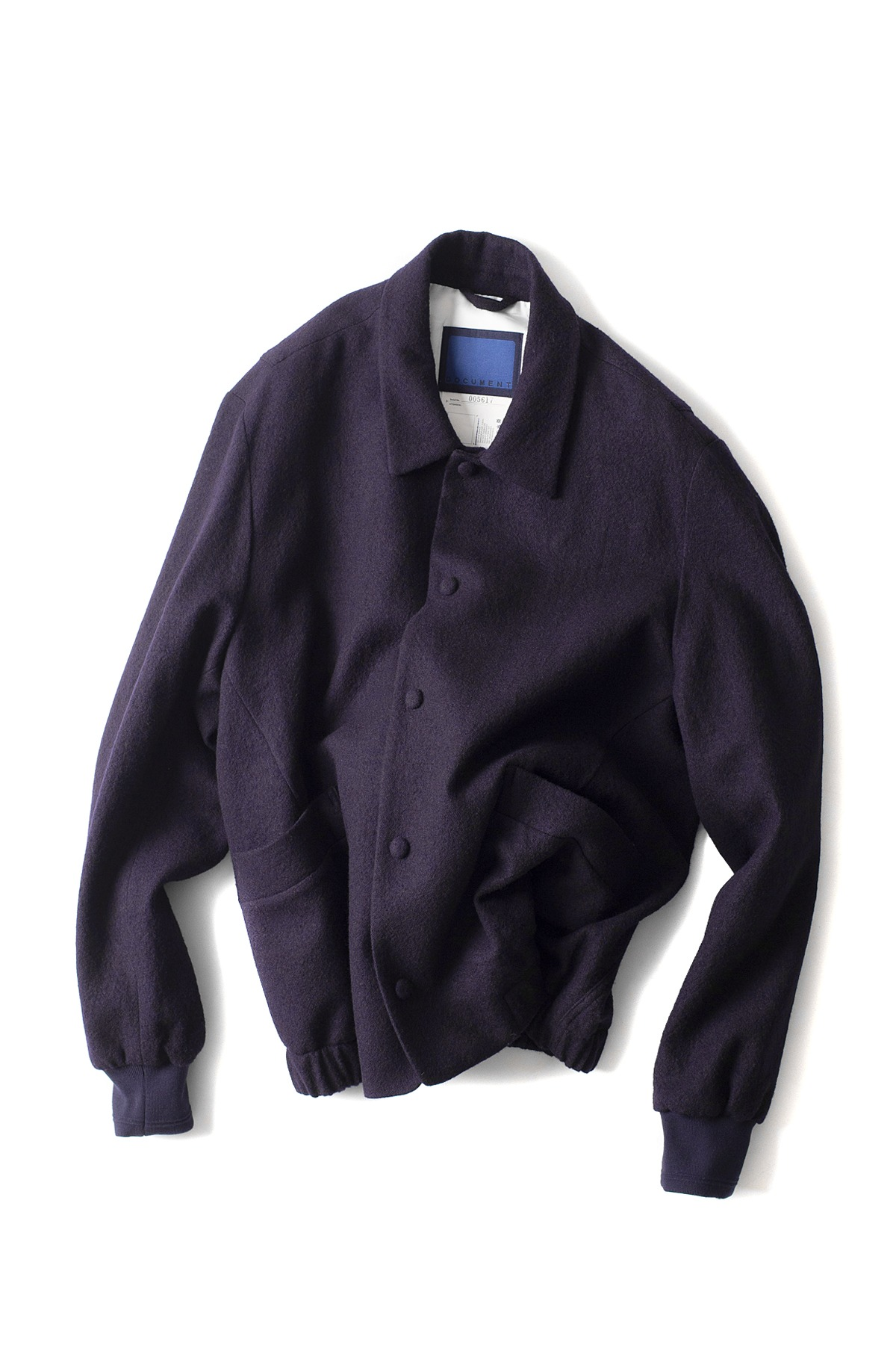 Document : Documentation Boucle Wool Blouson (Navy)