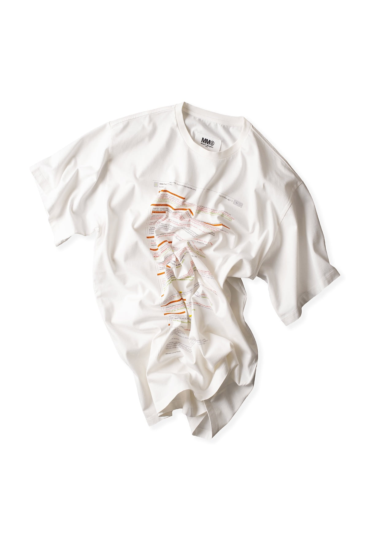 MM6 Maison Margiela : E-Mail T-shirt (White)