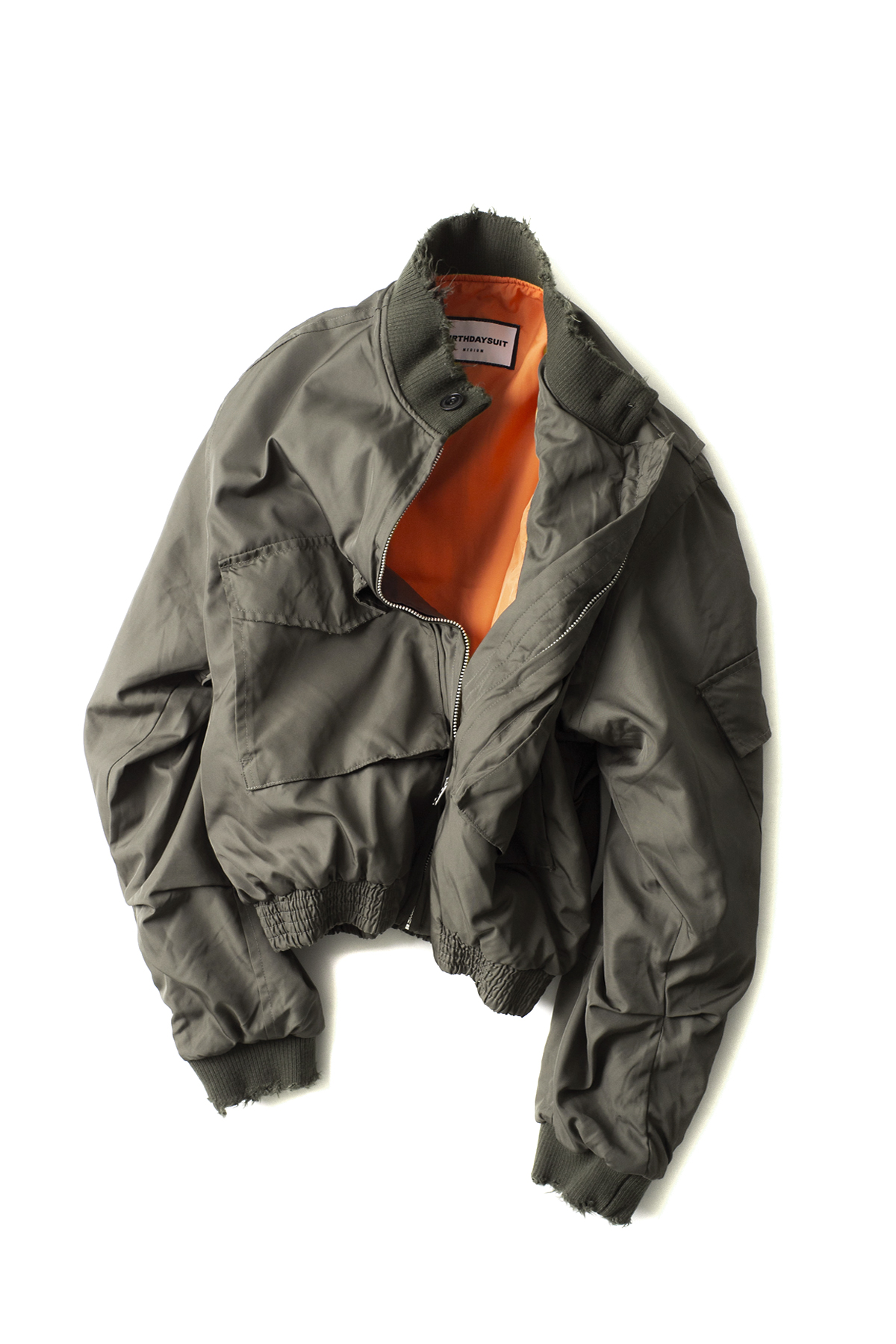 BIRTHDAYSUIT : G-8 Flight Jacket (Olive)