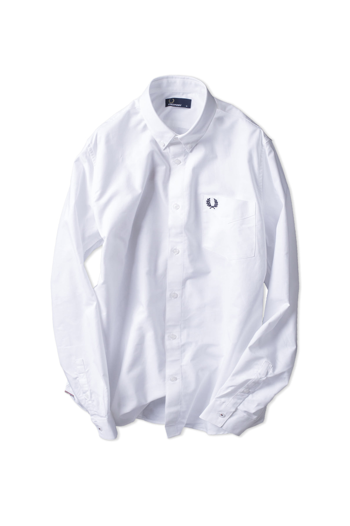 FRED PERRY : Classic Oxford Shirt (White)