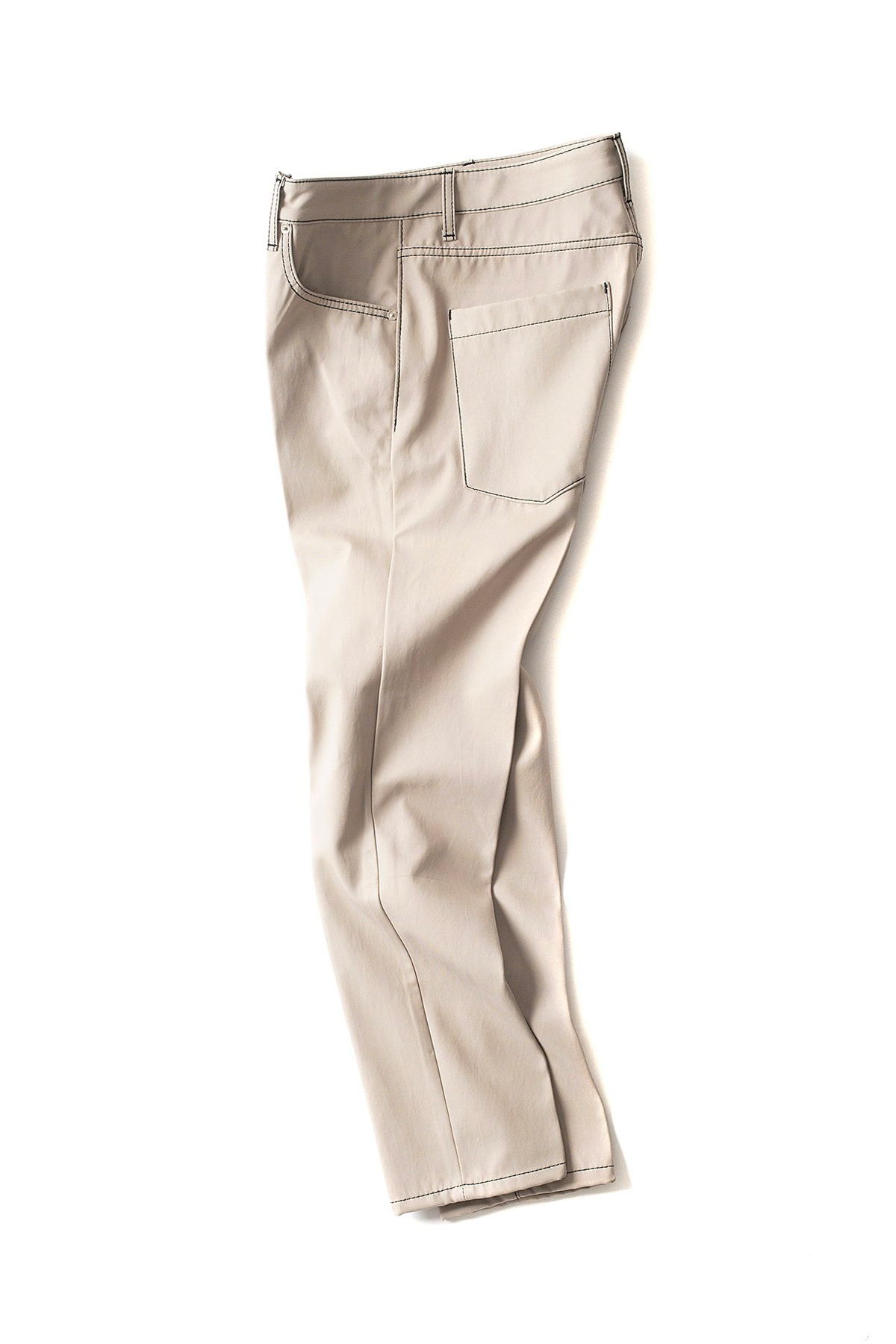 BIRTHDAYSUIT : Slim Fit 5Pocket Pants (Beige)