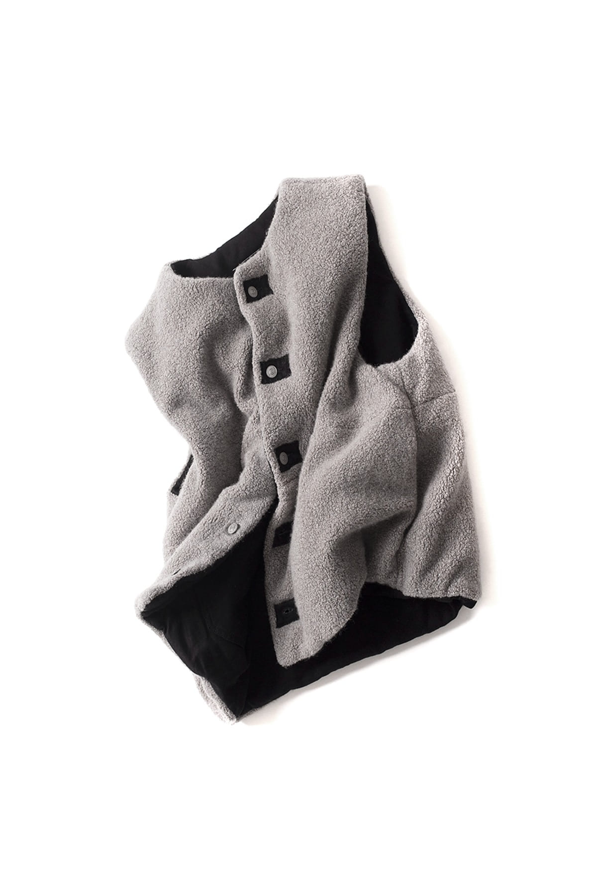 MM6 Maison Margiela : Gilet (Grey)