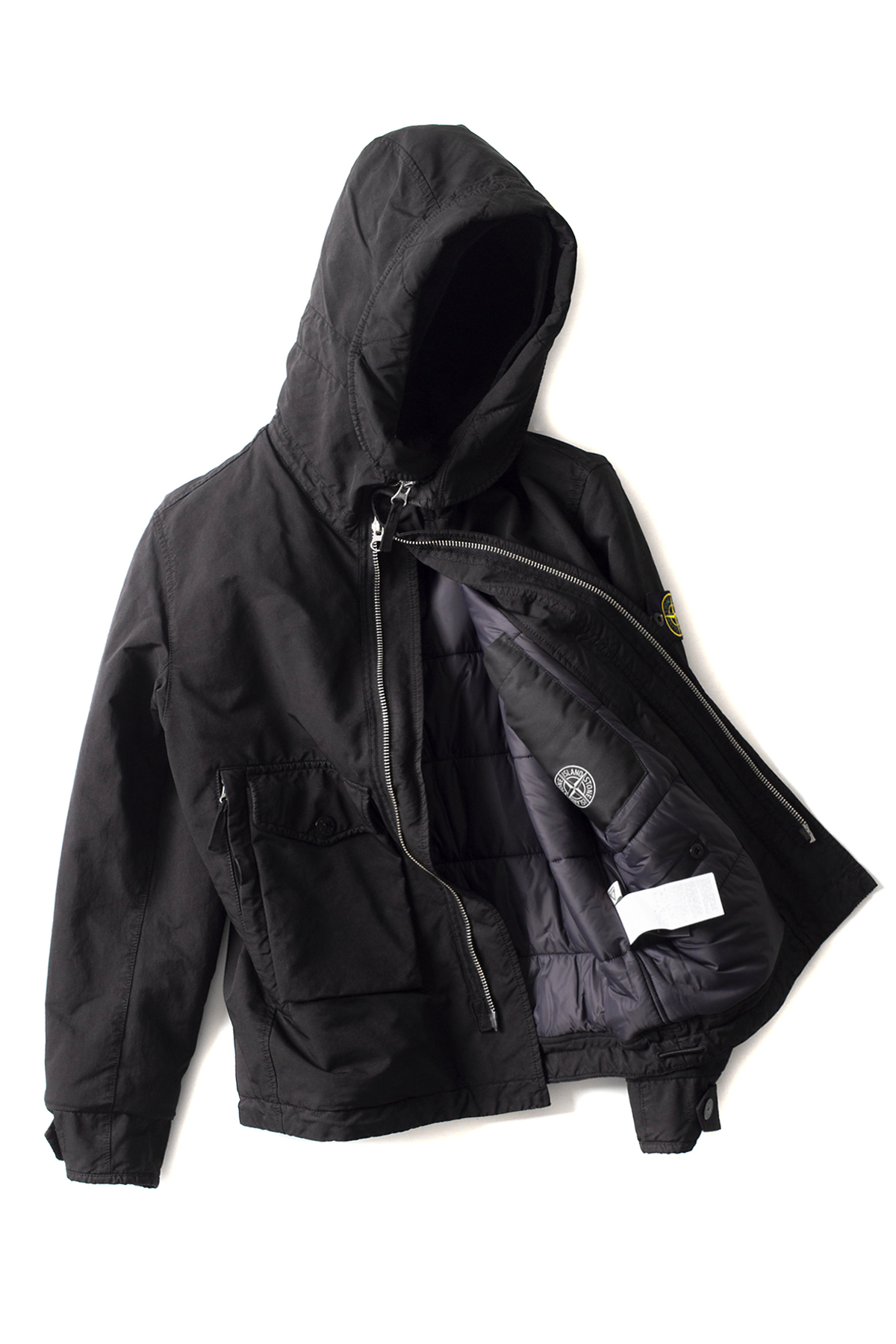 Stone Island : David - TC With Primaloft (Black)