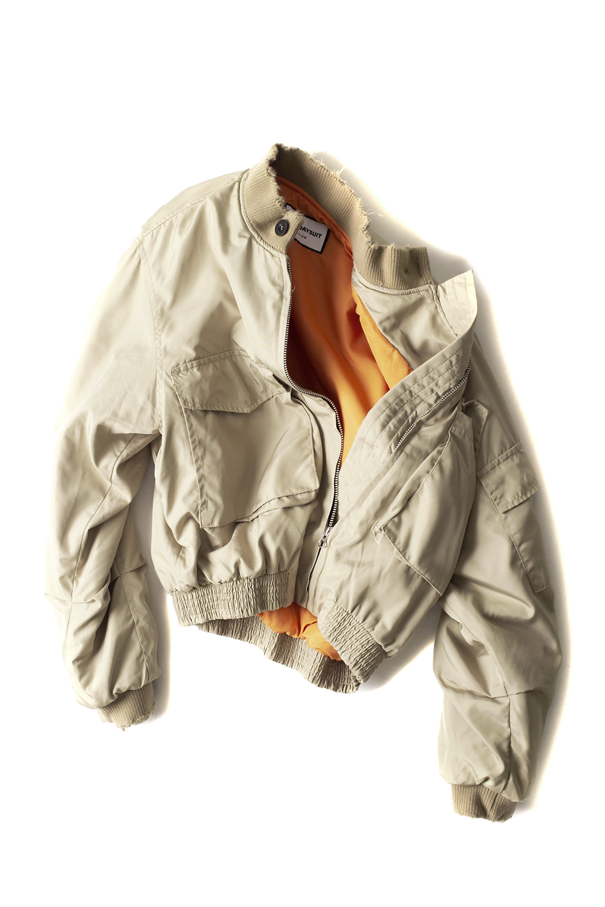BIRTHDAYSUIT : G-8 Flight Jacket (Beige)