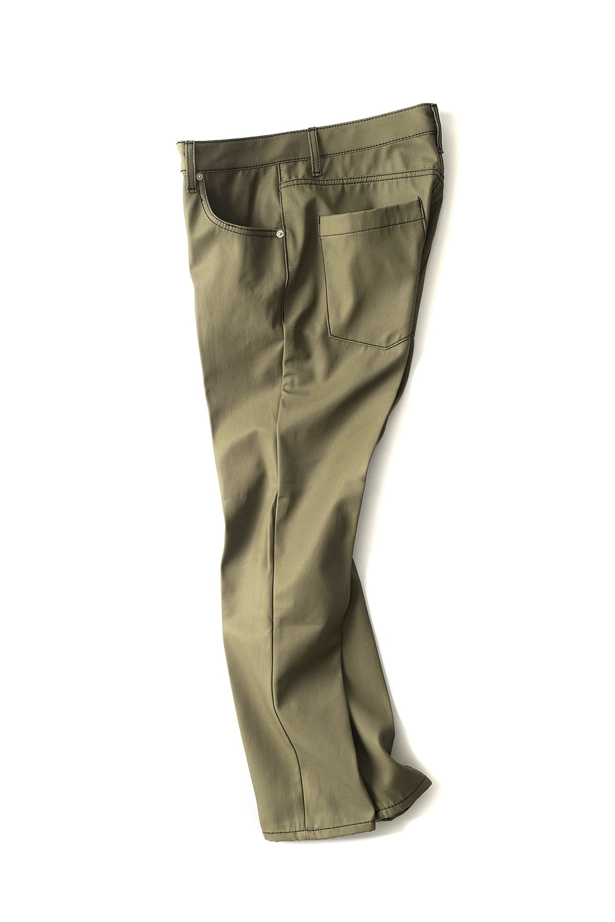 BIRTHDAYSUIT : Slim Fit 5Pocket Pants (Khaki)