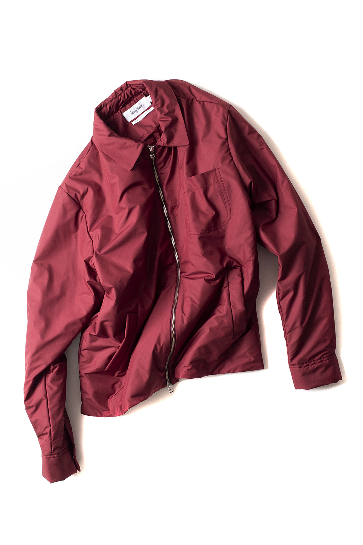 Schnayderman's : Overshirt Bomber One (Burgundy)