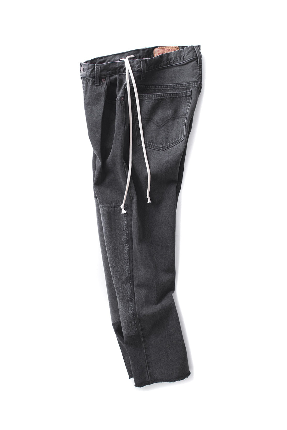 HEXICO : 1 Pleat Denim (Black)
