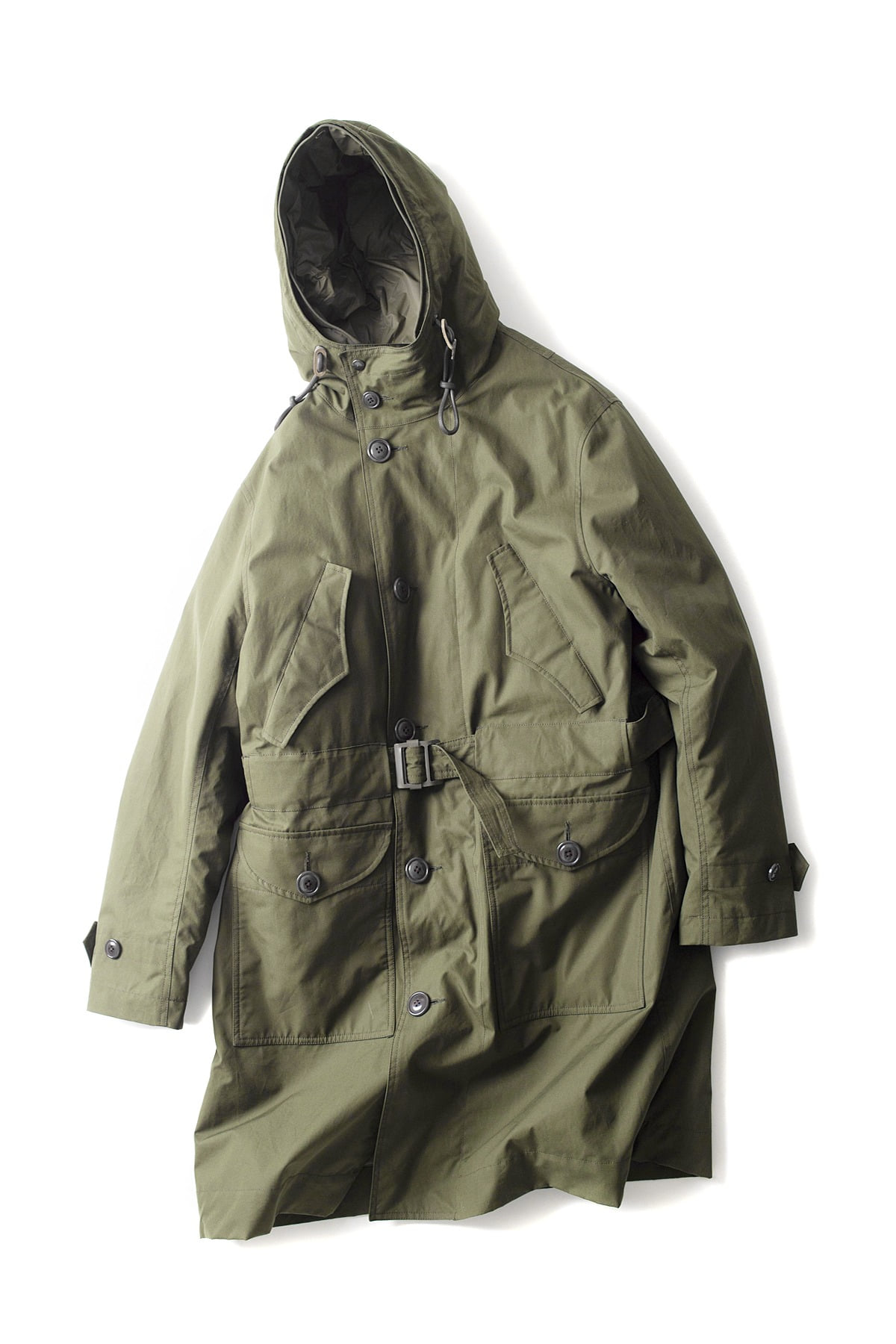 EASTLOGUE : Changjin Battle Parka (Olive)