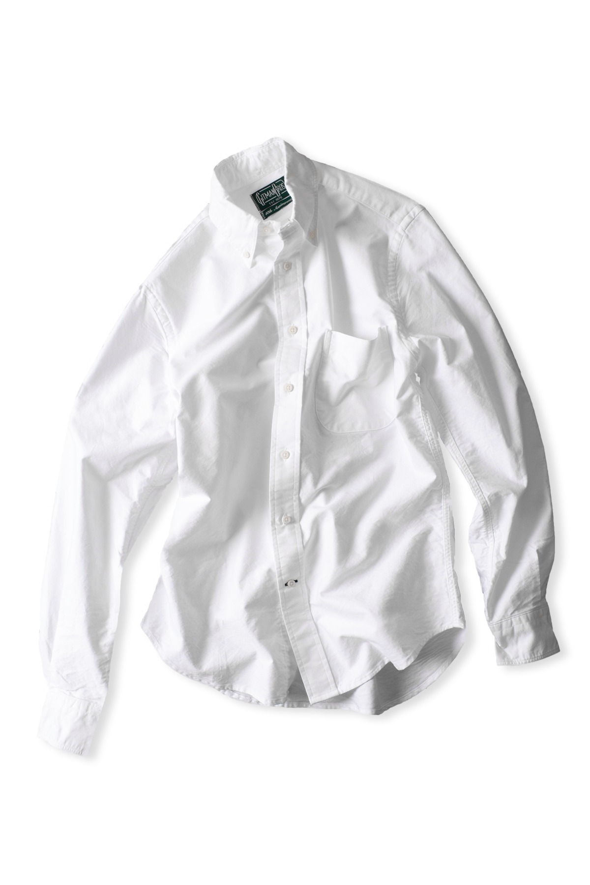 GITMANBROS : Vintage Button Down Shirt (White)
