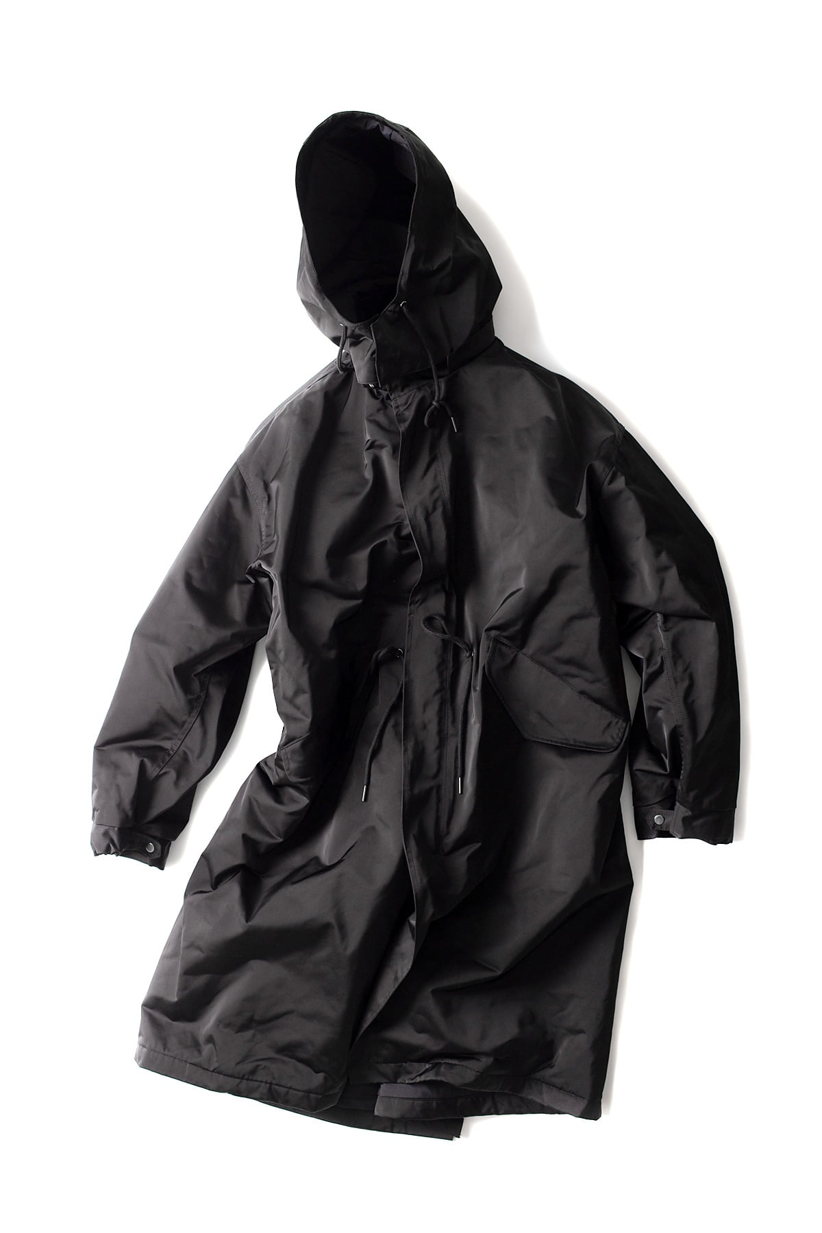 BIRTHDAYSUIT : Fishtail Parka (Black)