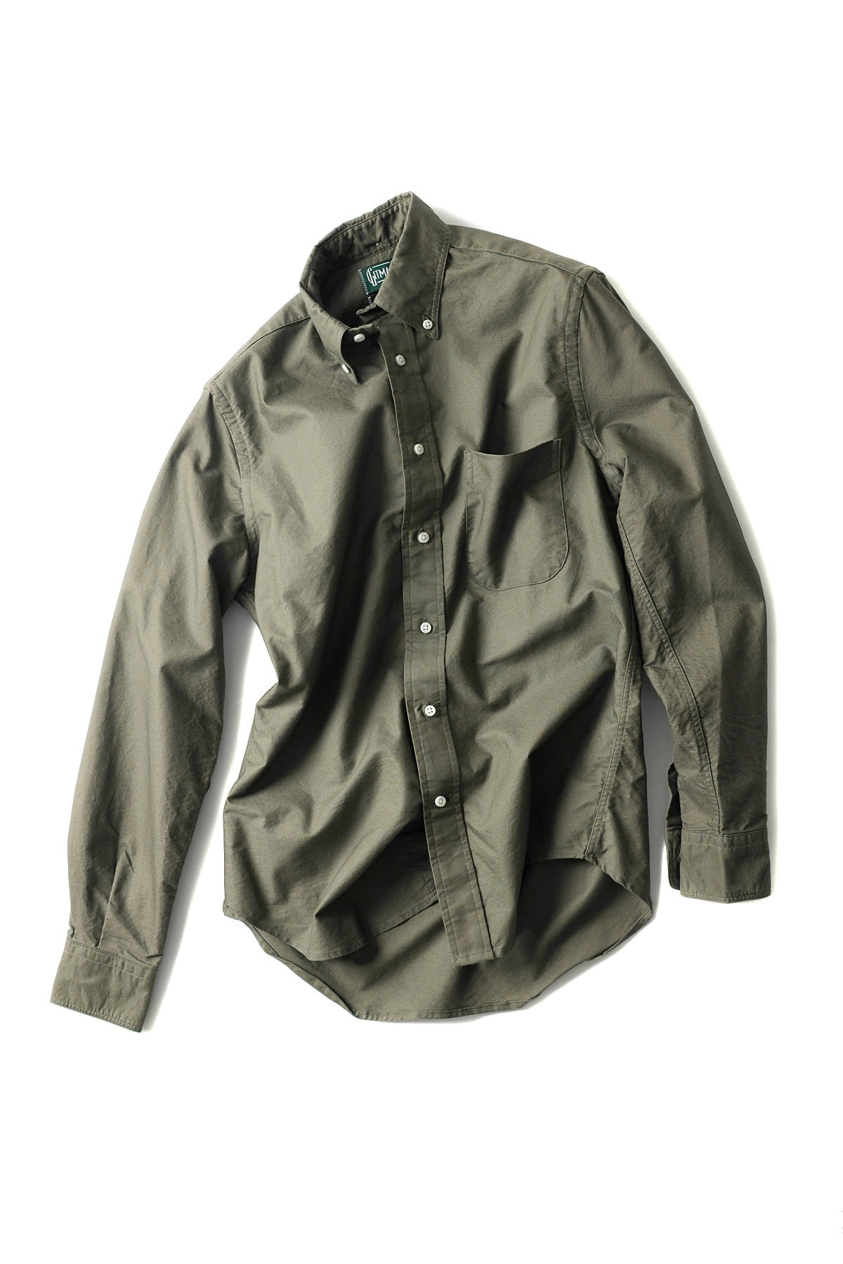 GITMANBROS : Vintage Button Down Shirt (Olive Drab)