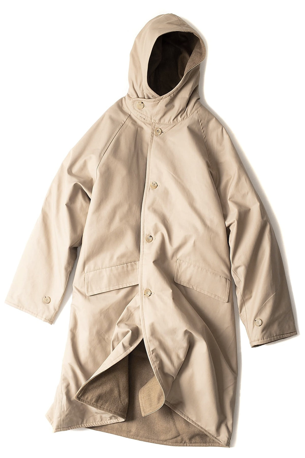JOURNEY MAN : Journey Hood Coat (Beige)