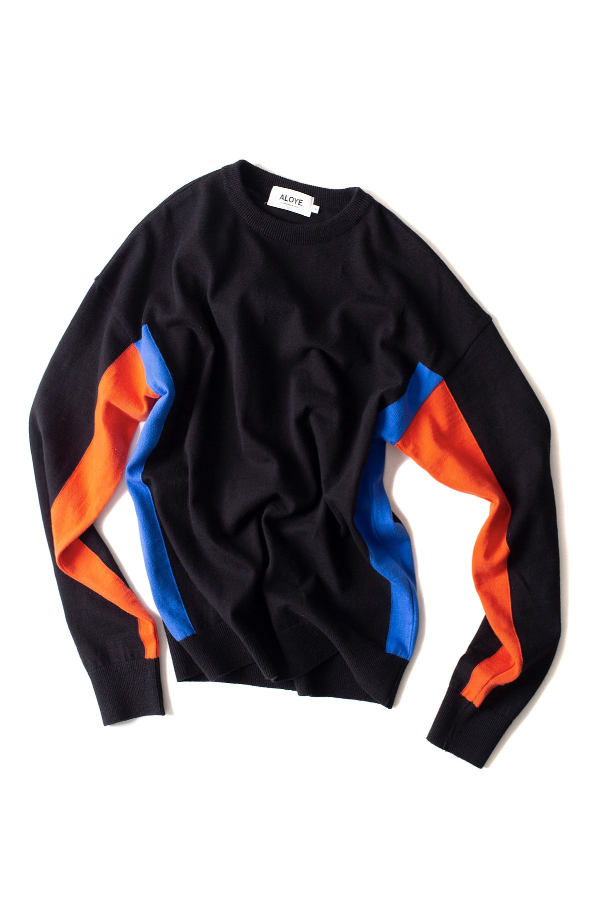 ALOYE : G.F.G.S Long Sleeve Cotton Knitted (Black)