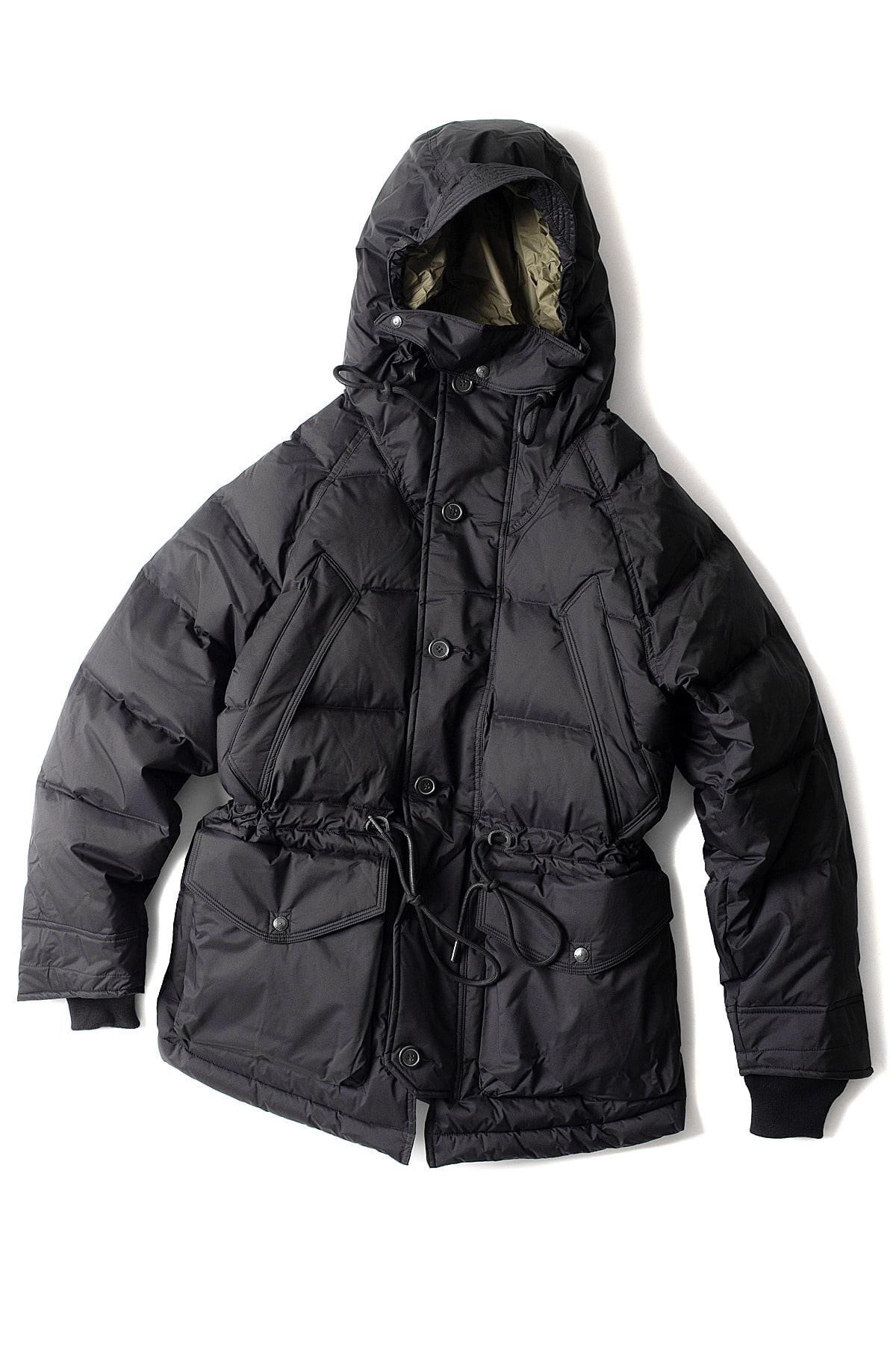 Eastlogue : Utility Shield Parka (Black)