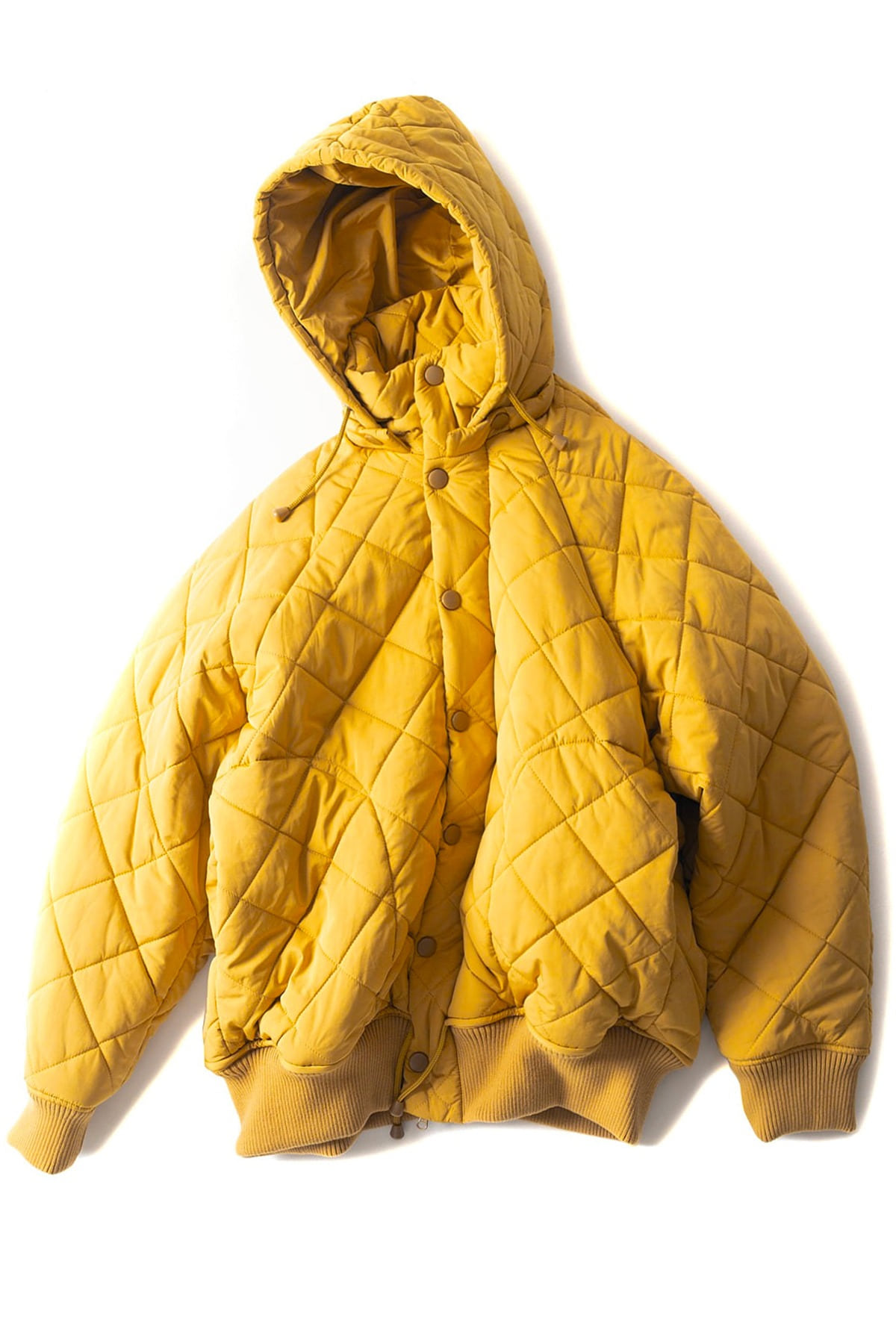 HENRIK VIBSKOV : Therefore Thermo Jacket (Yellow)