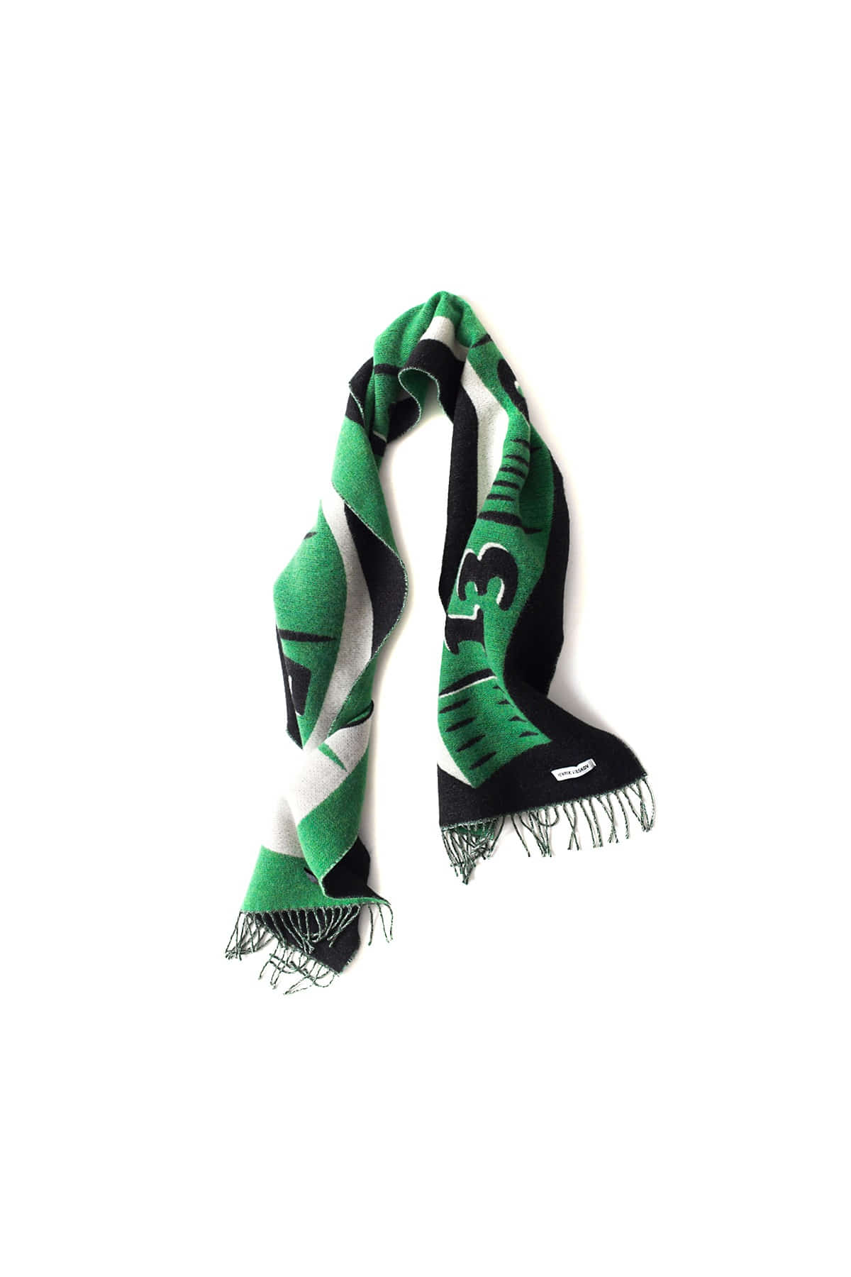 HENRIK VIBSKOV : Measuretape Scarf (Green)