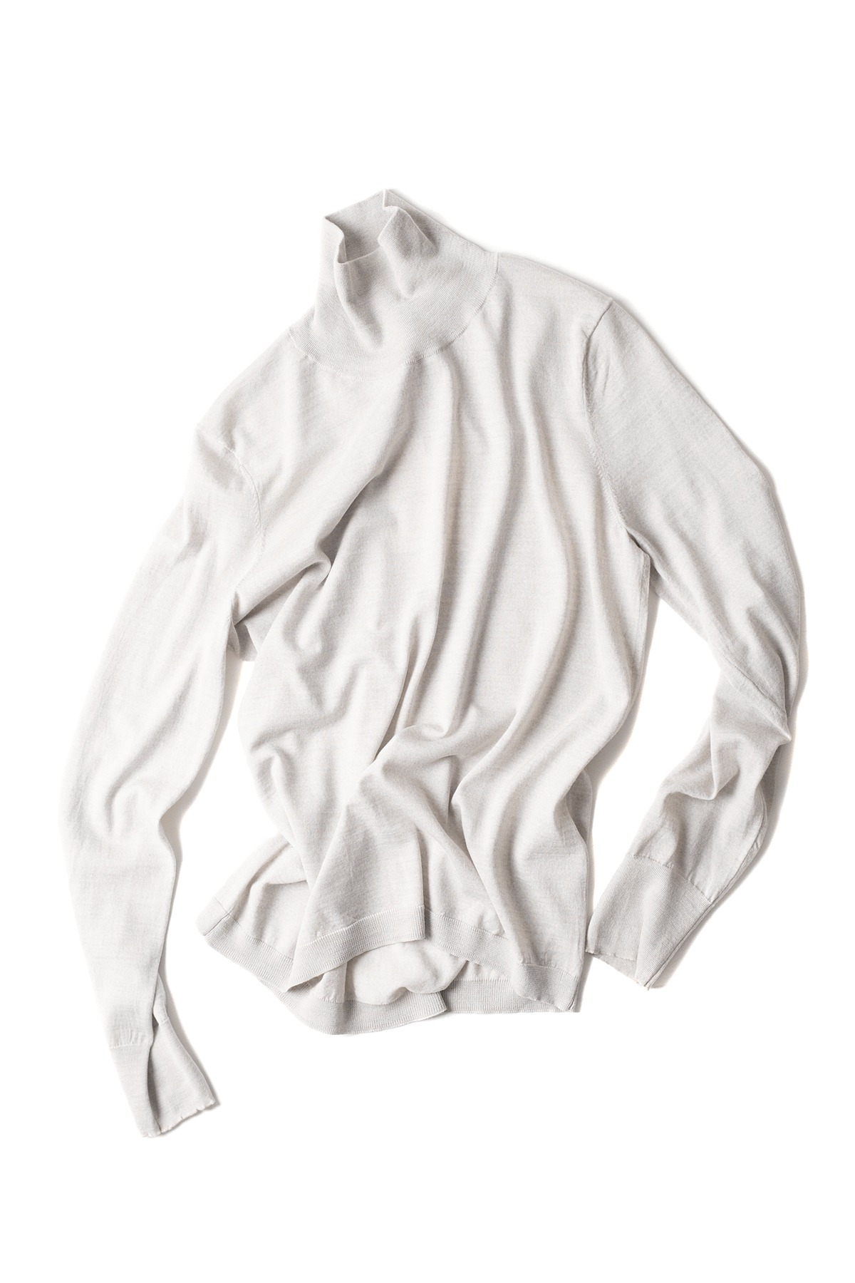 STUDIO NICHOLSON : Turtleneck (Ivory)