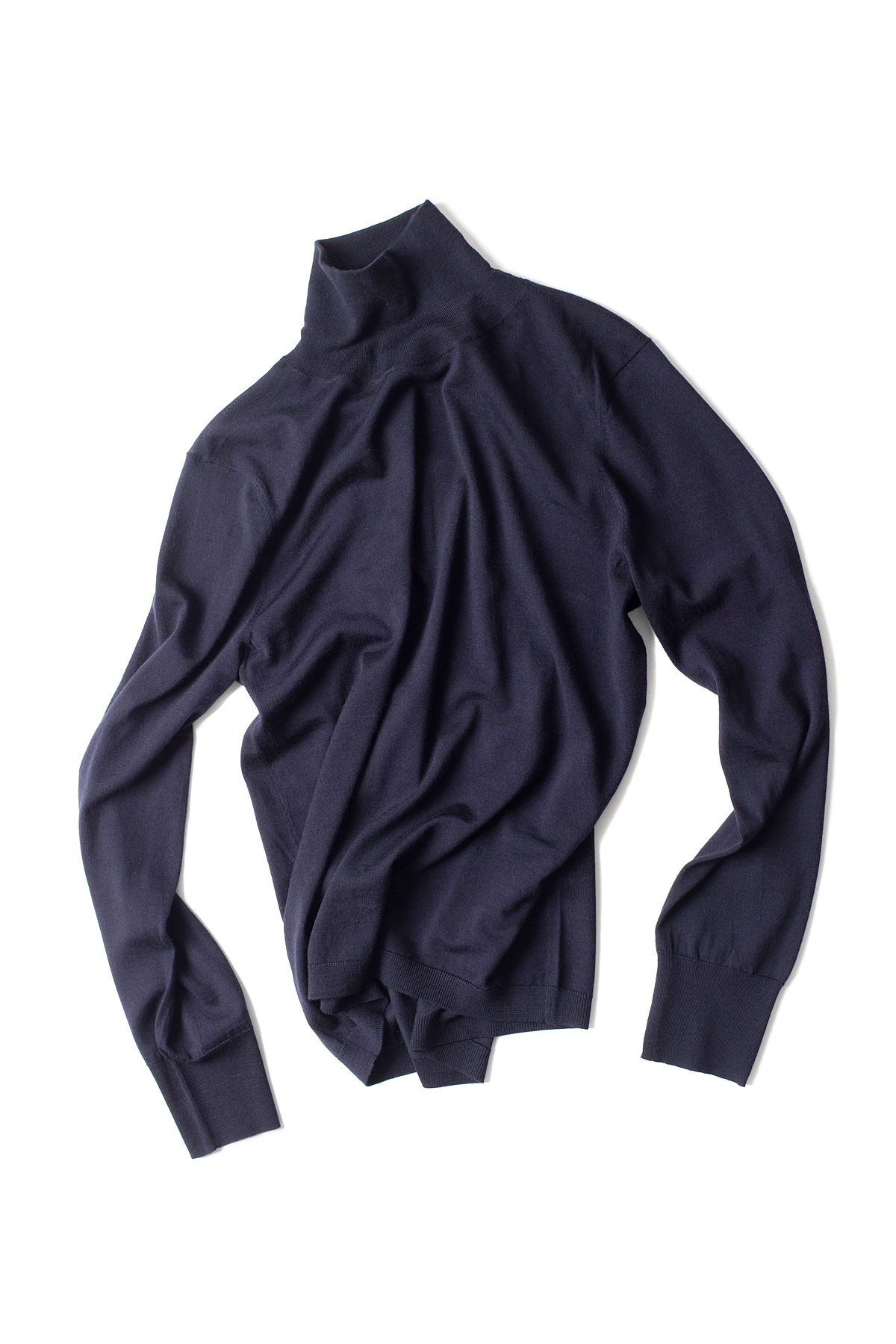 STUDIO NICHOLSON : Turtleneck (Navy)