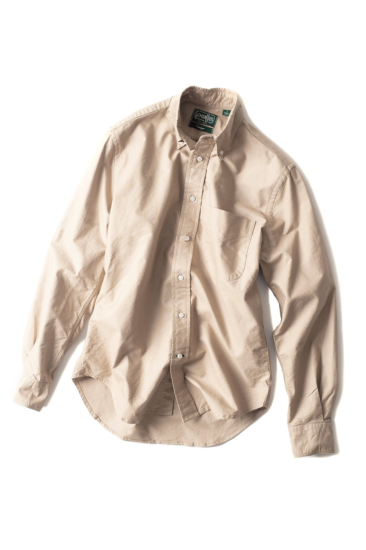 GITMANBROS : Vintage Button Down Shirt (Tan)