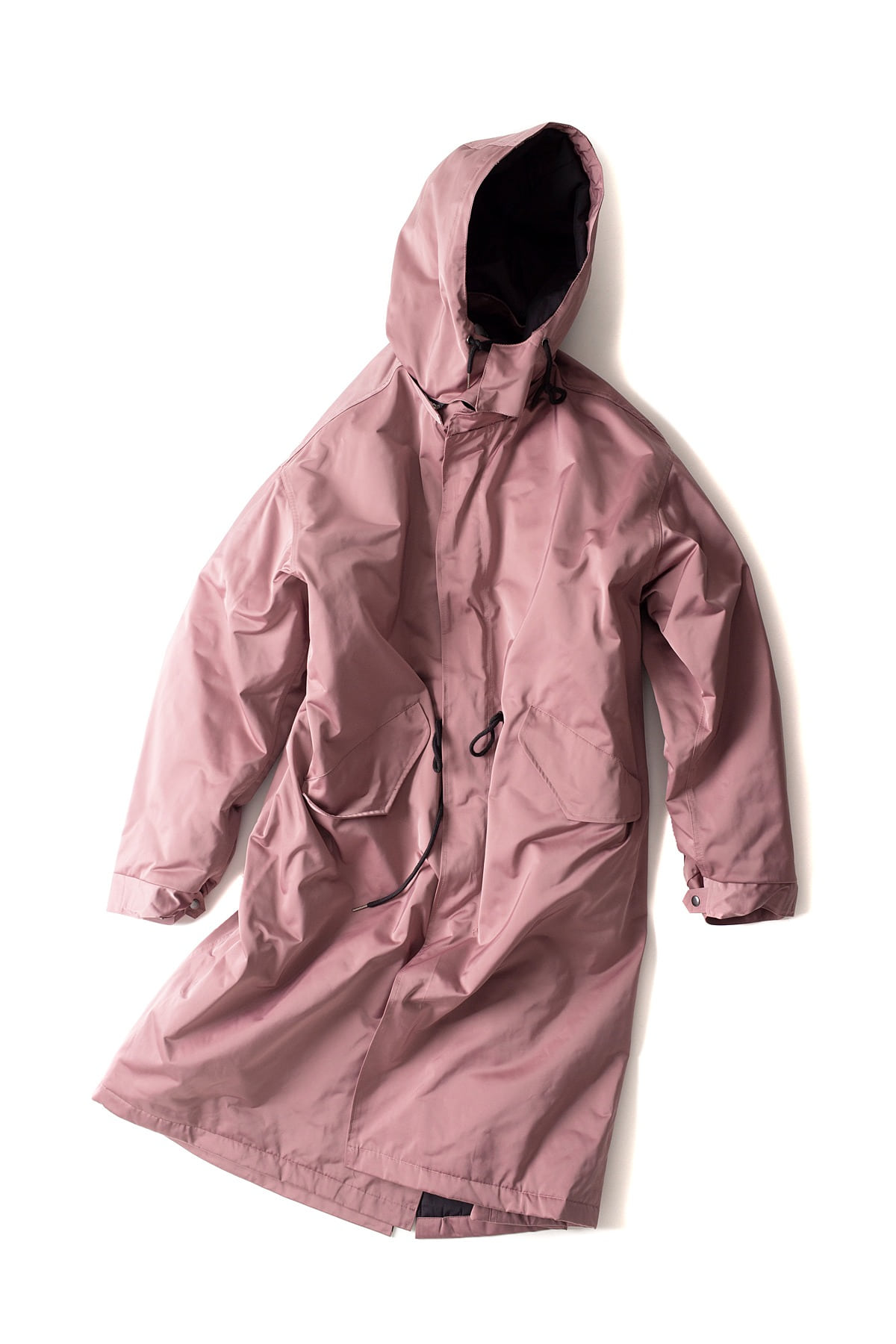 BIRTHDAYSUIT : Fishtail Parka (Pink)