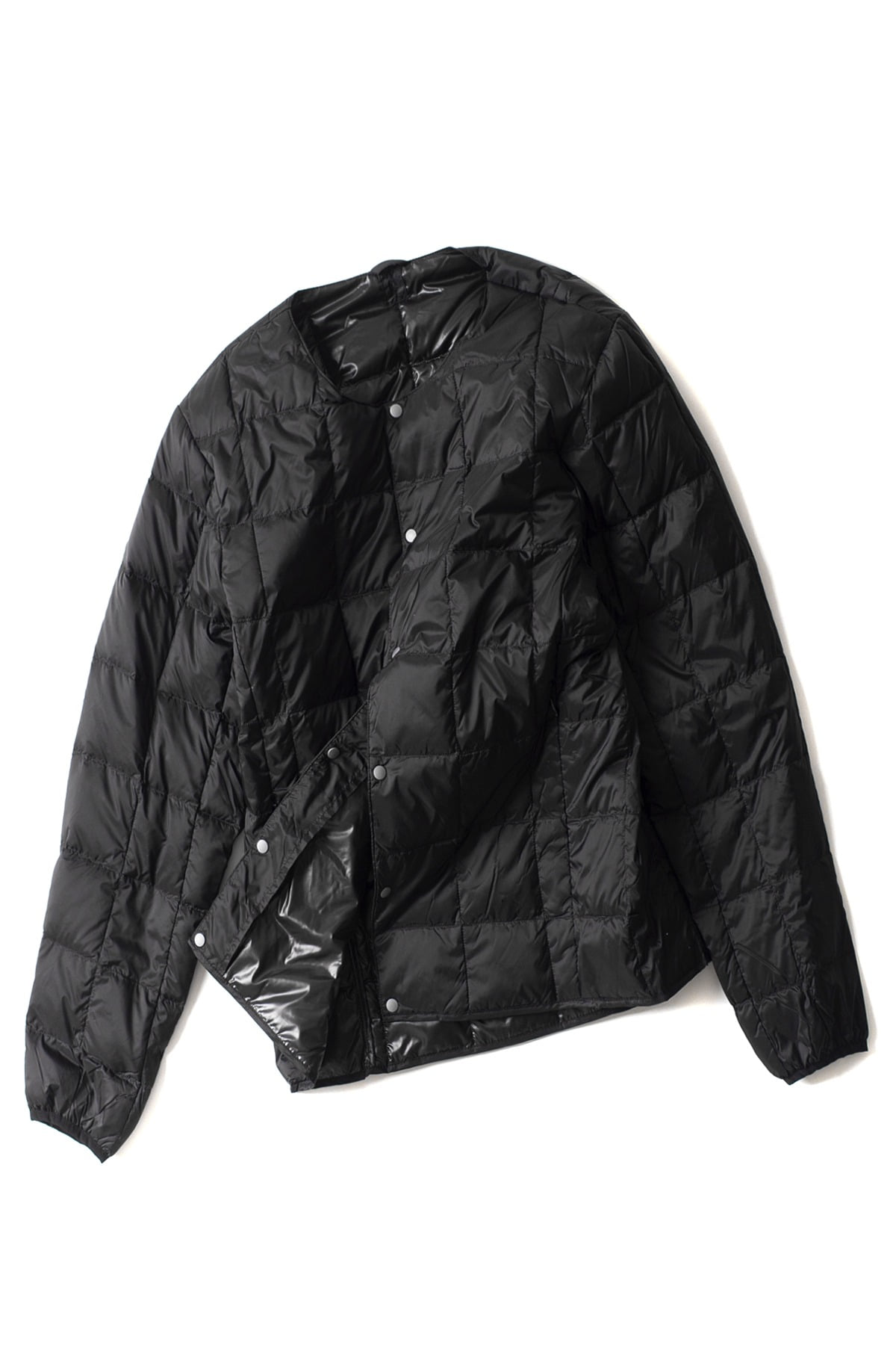 TAION : Crew Next Button Down Jacket (Black)