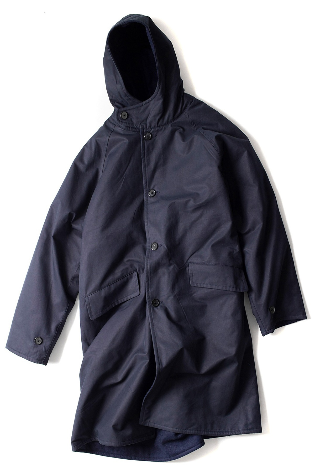 JOURNEY MAN : Journey Hood Coat (Navy)
