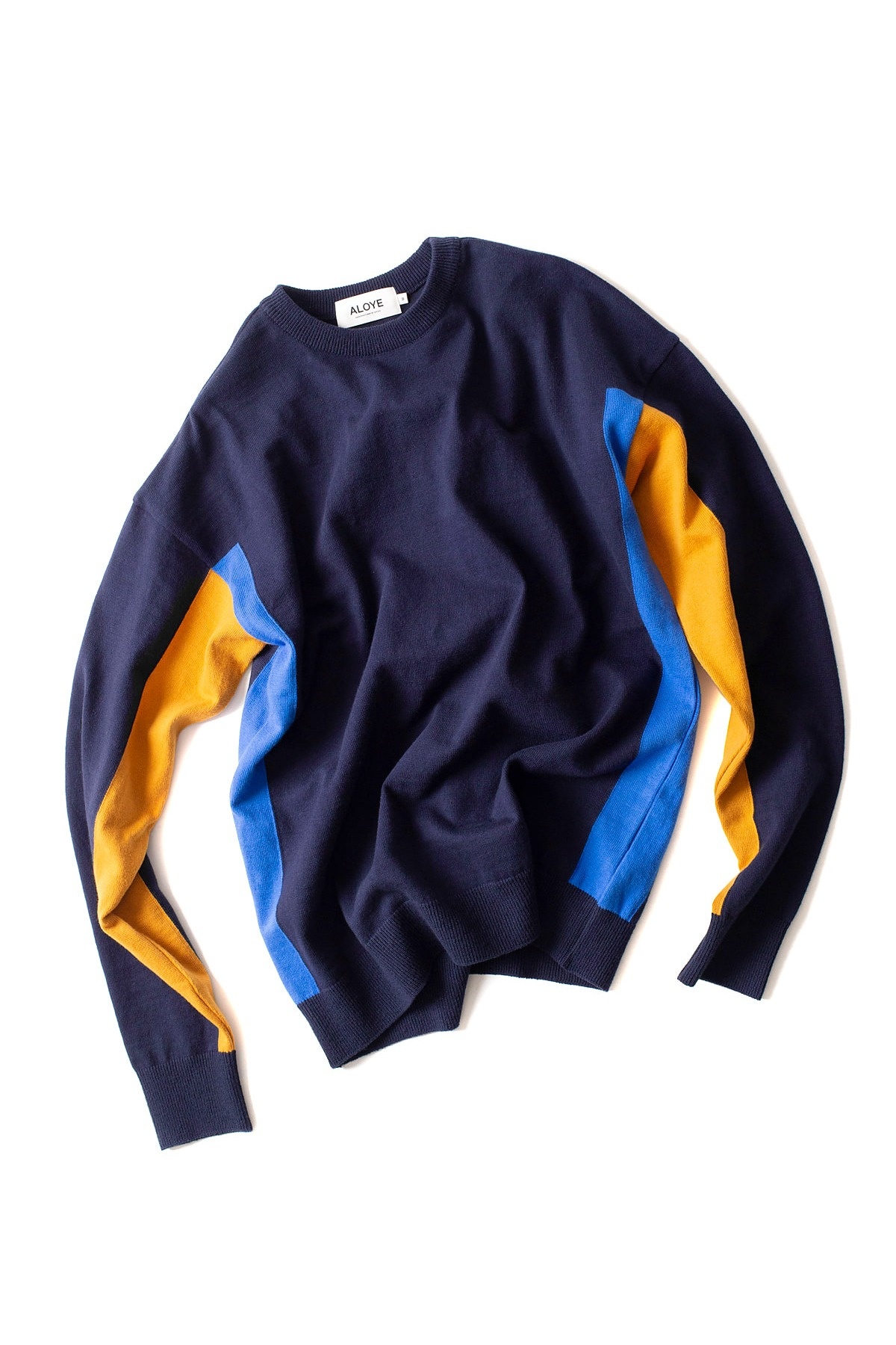 ALOYE : G.F.G.S Long Sleeve Cotton Knitted (Navy)