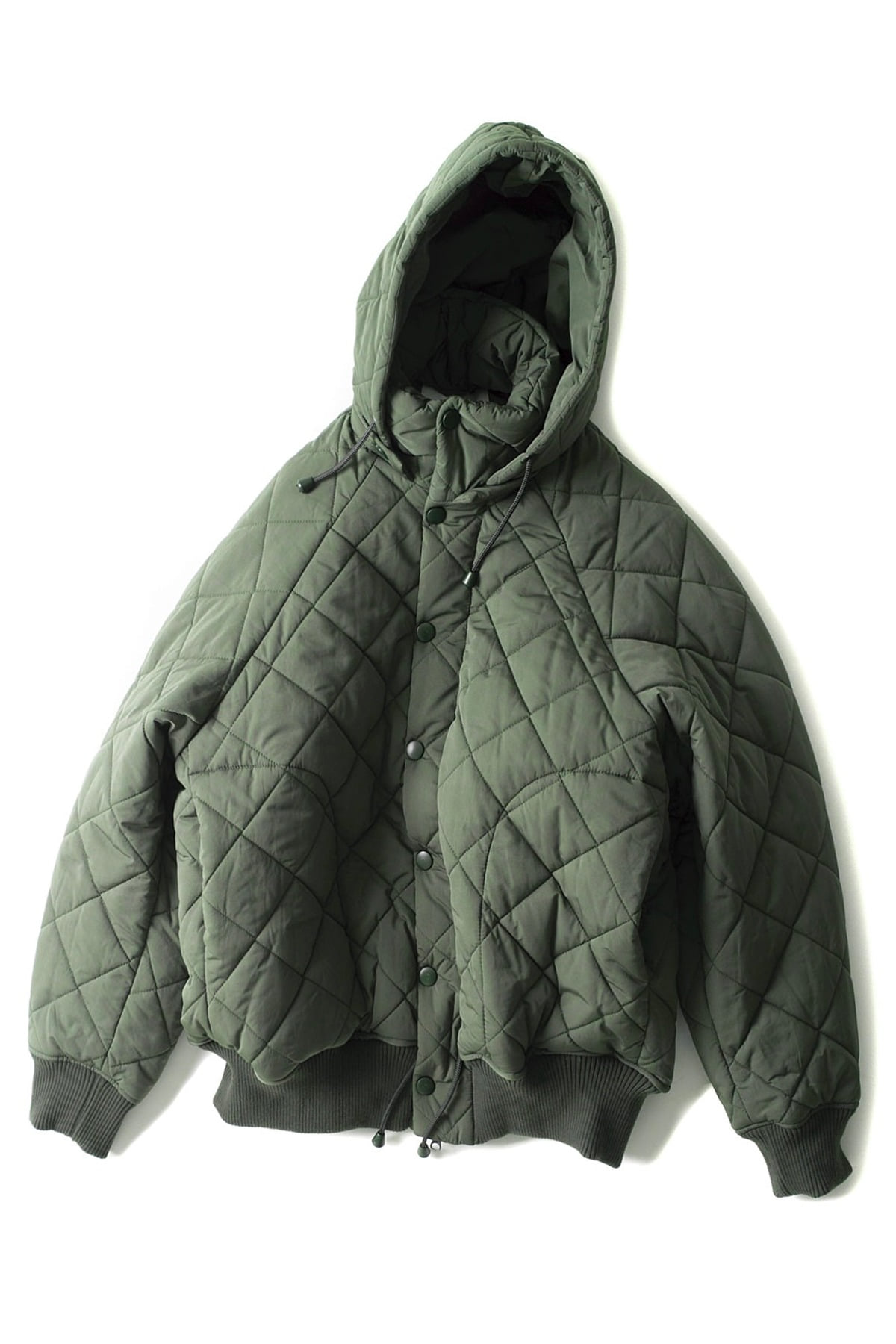 HENRIK VIBSKOV : Therefore Thermo Jacket (Green)