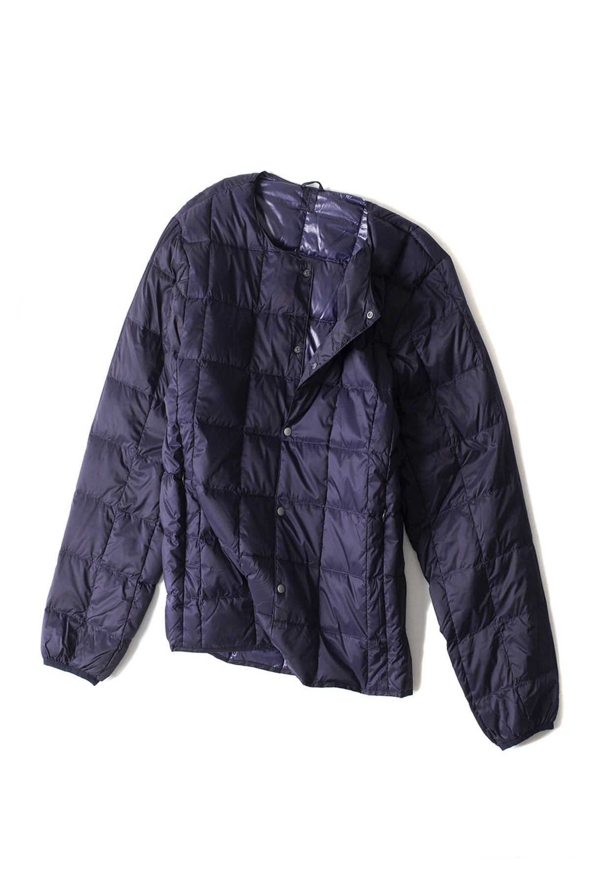 TAION : Crew Next Button Down Jacket (Navy)