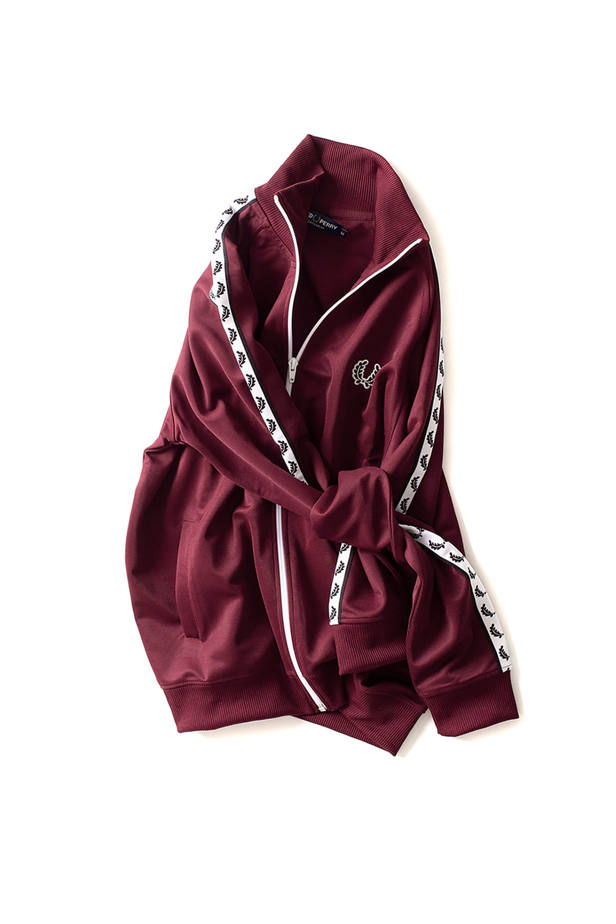 FRED PERRY : Taped Track Jacket (Tawny Port)