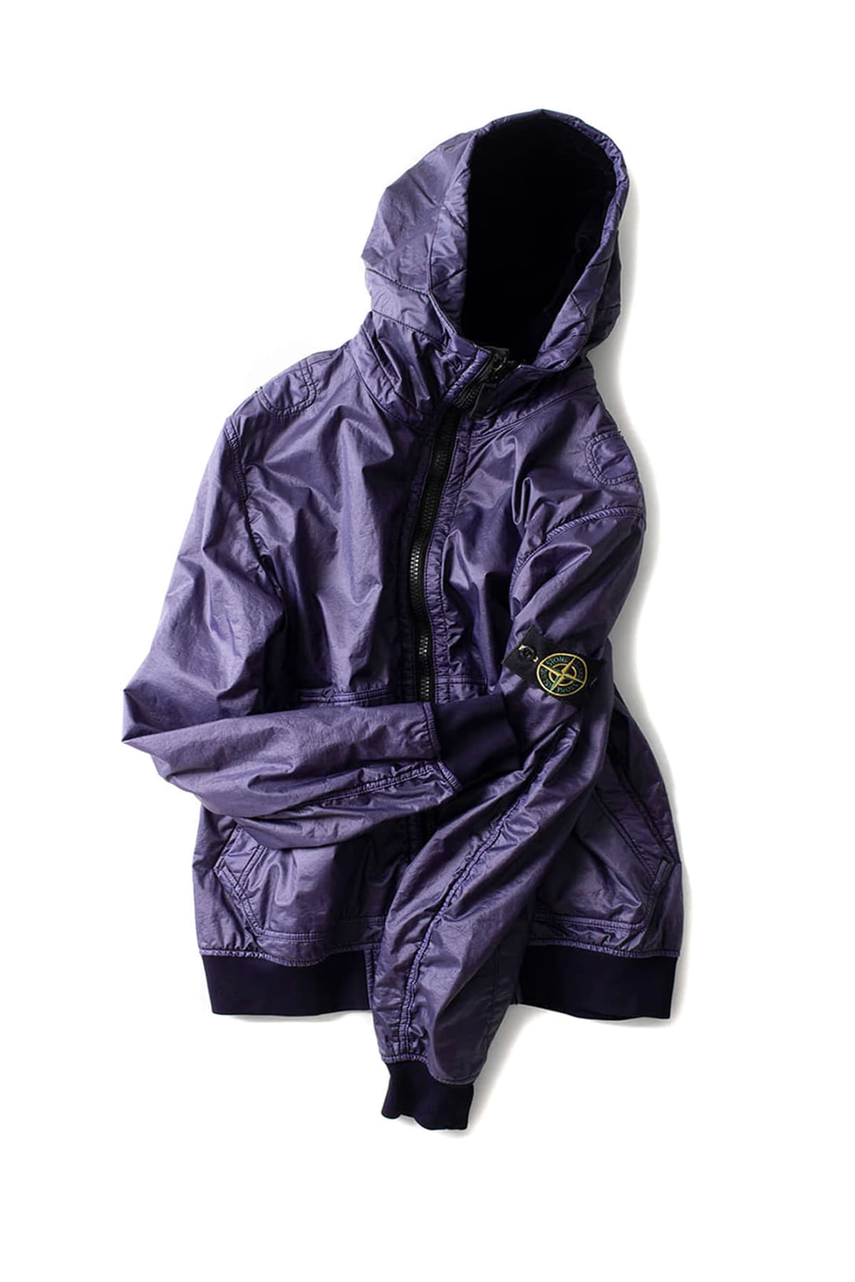 Stone Island : Lamy Flock Jacket (Navy Blue)