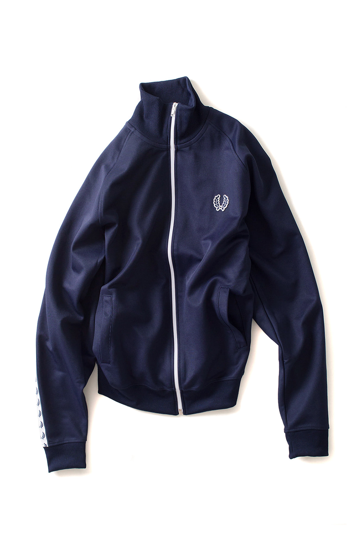 FRED PERRY : Taped Track Jacket (Carbon Blue)