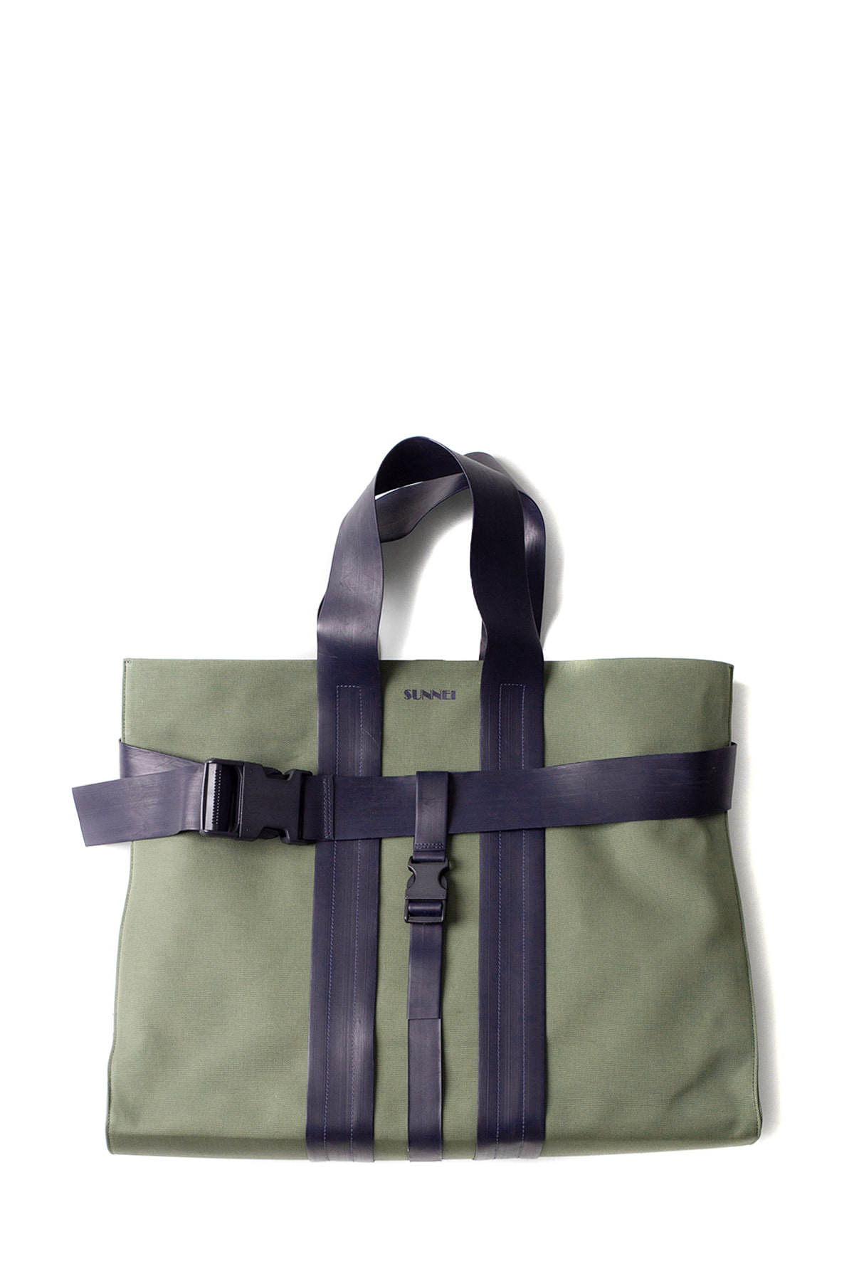 SUNNEI : Messenger Bag (Khaki & Black)