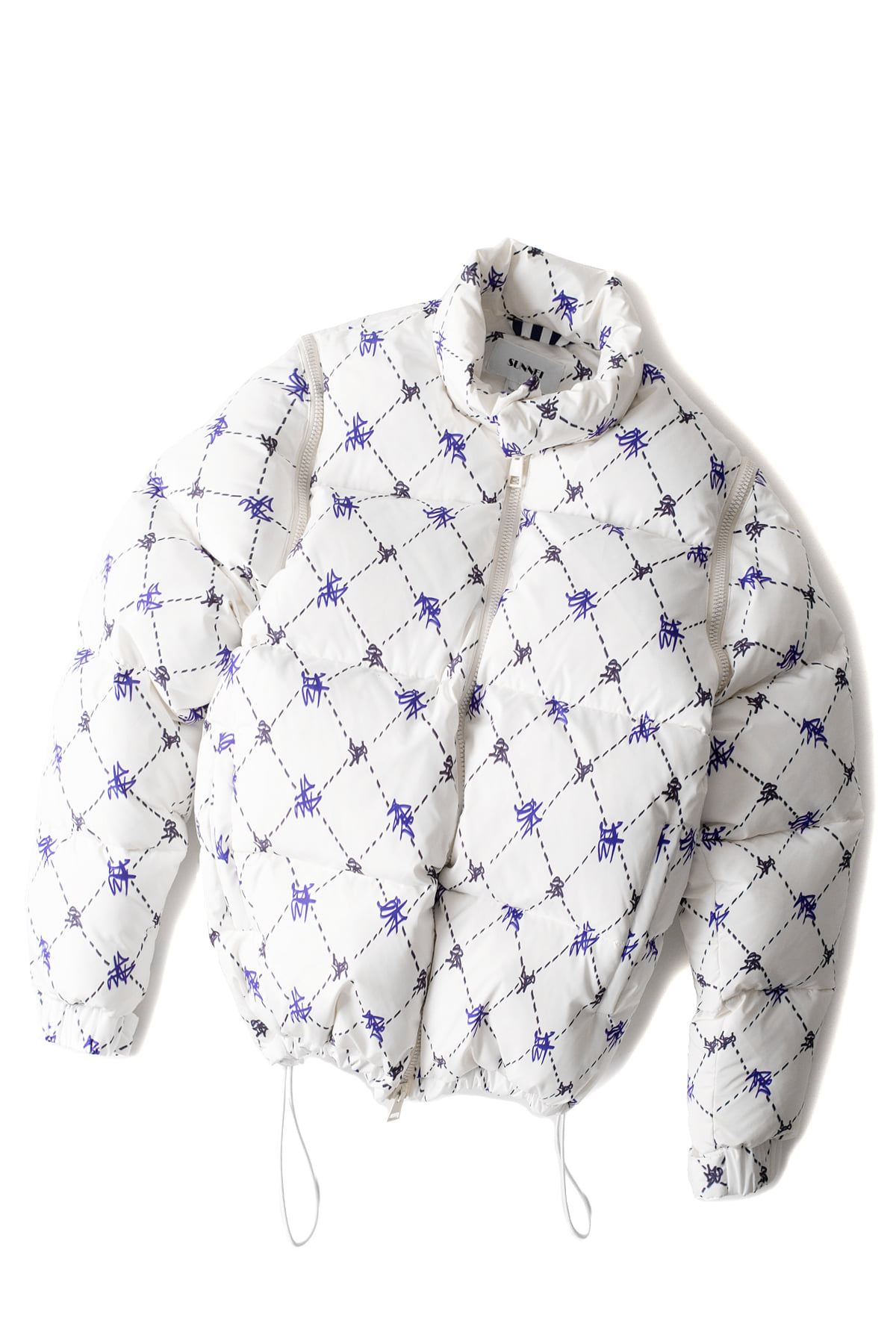 SUNNEI : Provence Puffy Jacket (White)