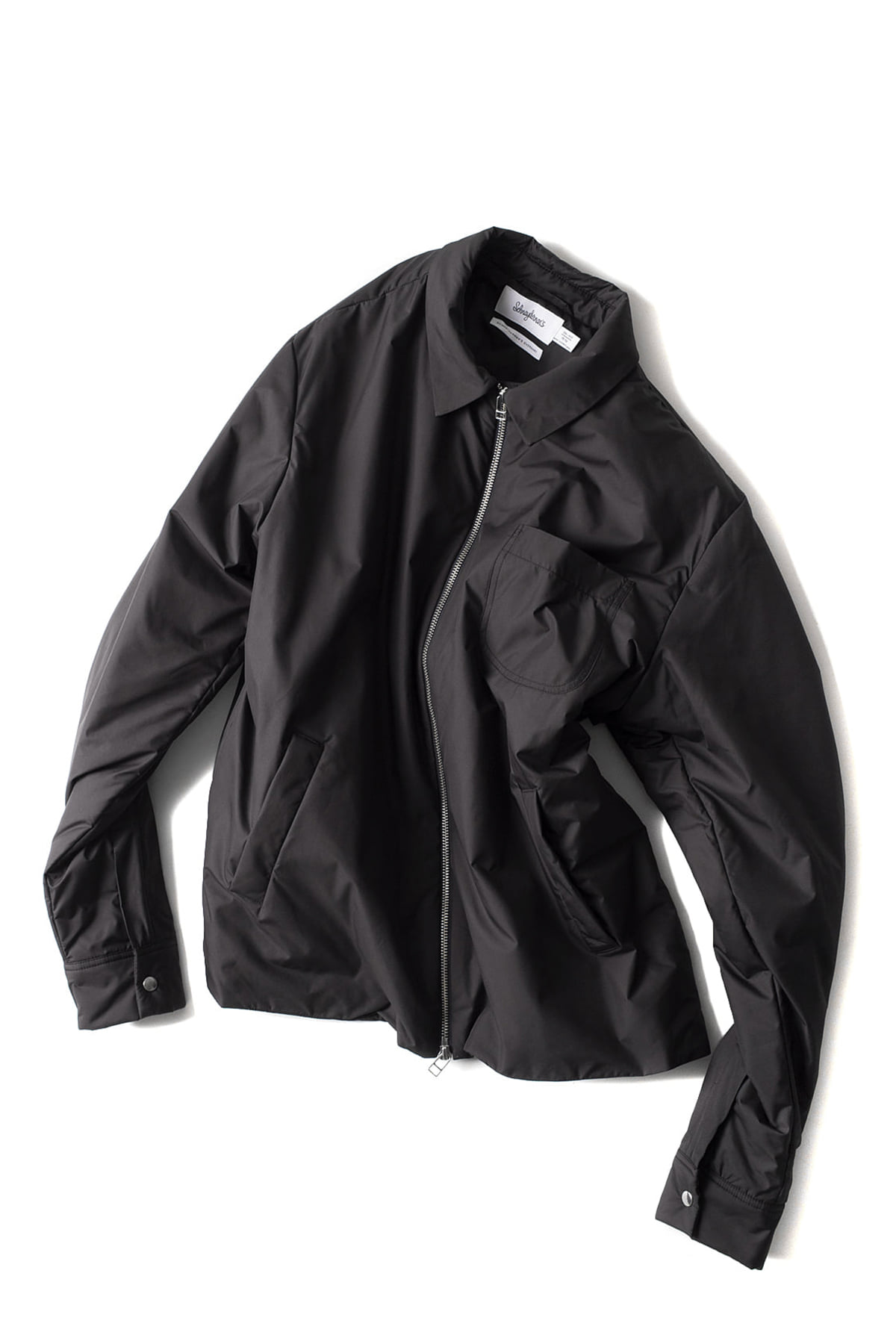 Schnayderman's : Overshirt Bomber One (Charcoal)