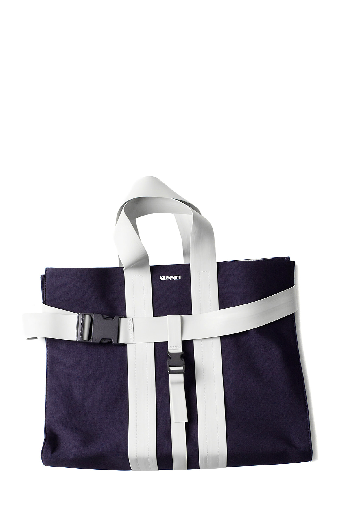 SUNNEI : Messenger Bag (Blue & White)