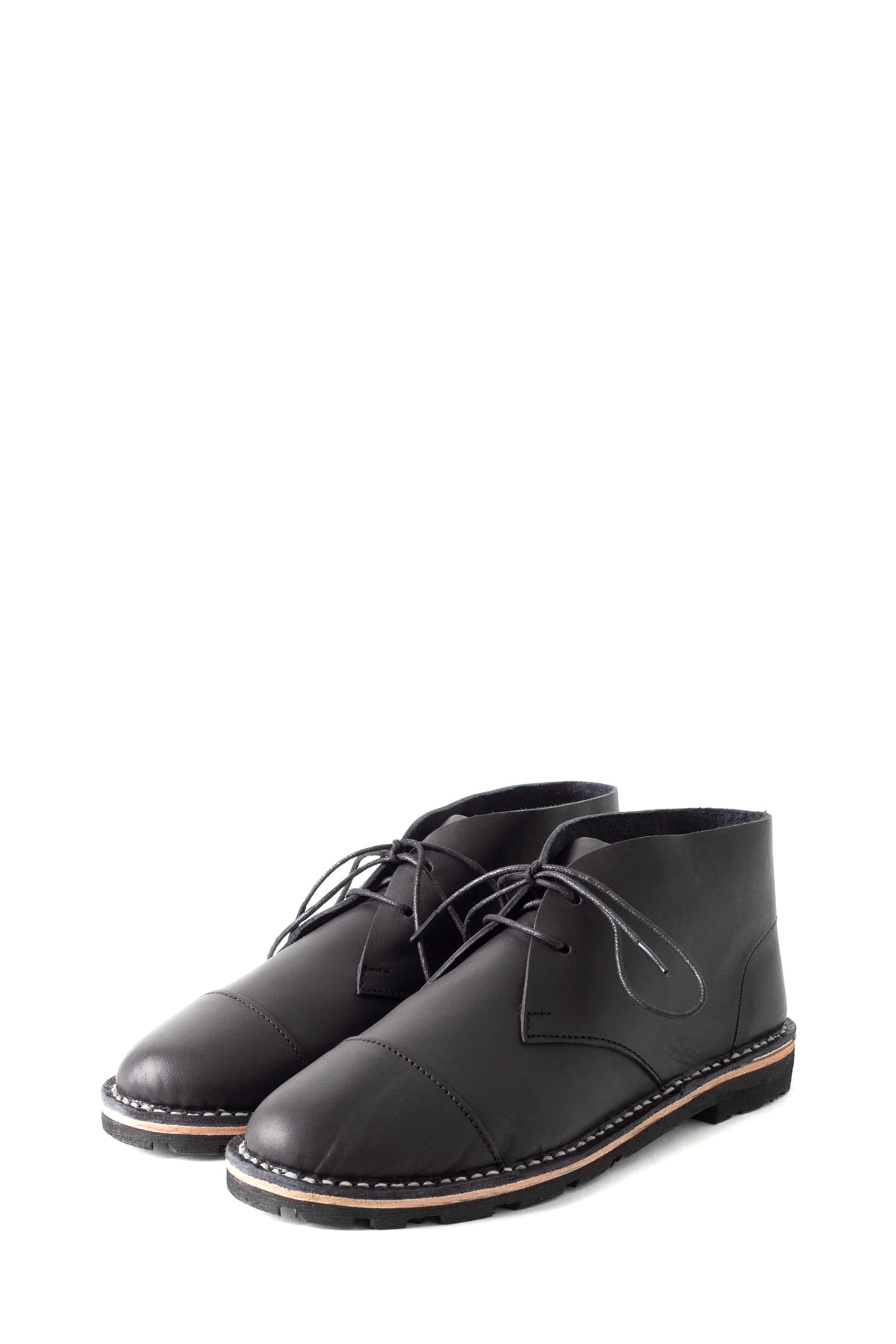 STEVE MONO : Artisanal Short Boot 10/10 (Black)